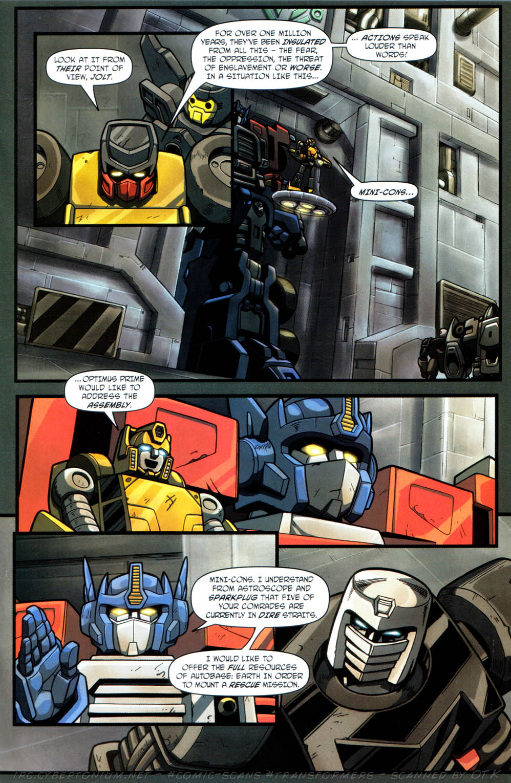 Read online Transformers Armada comic -  Issue #12 - 15