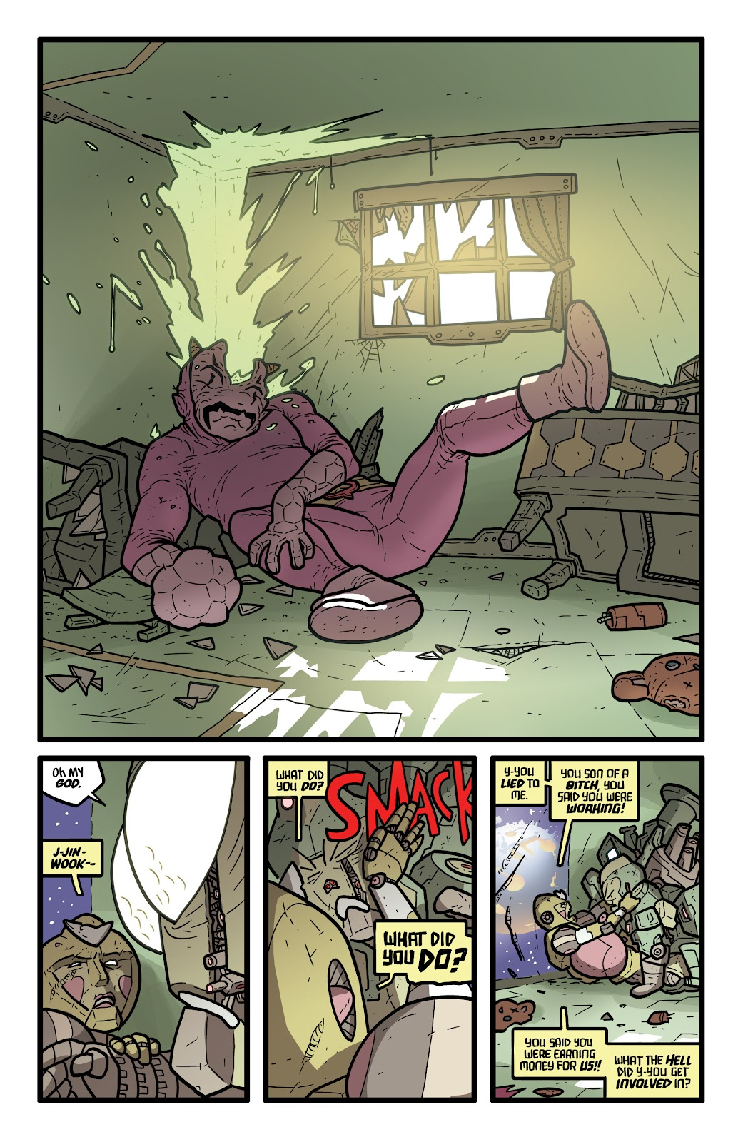 Read online Kaijumax: Season Four comic -  Issue #5 - 23