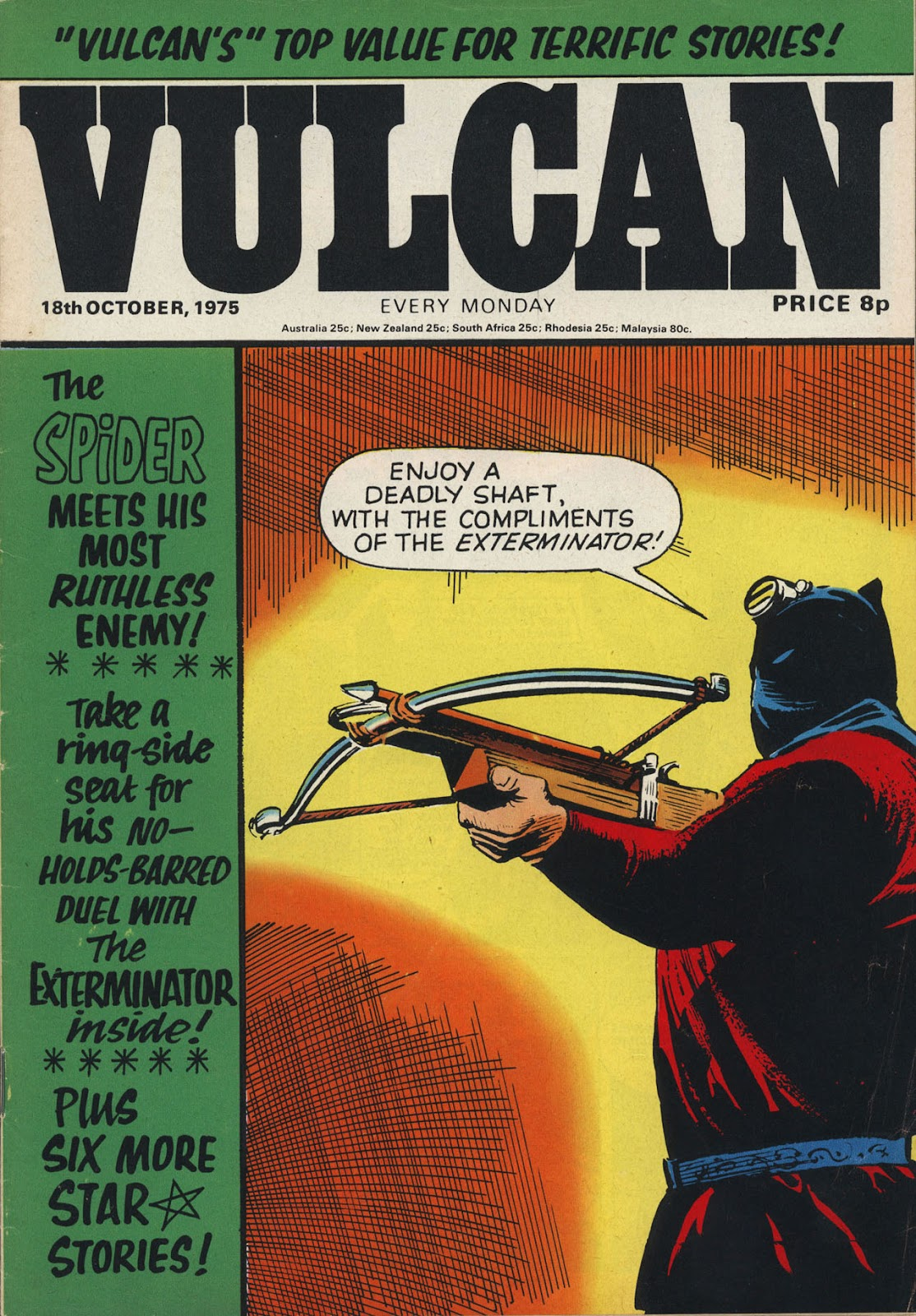 Vulcan issue 4 - Page 1