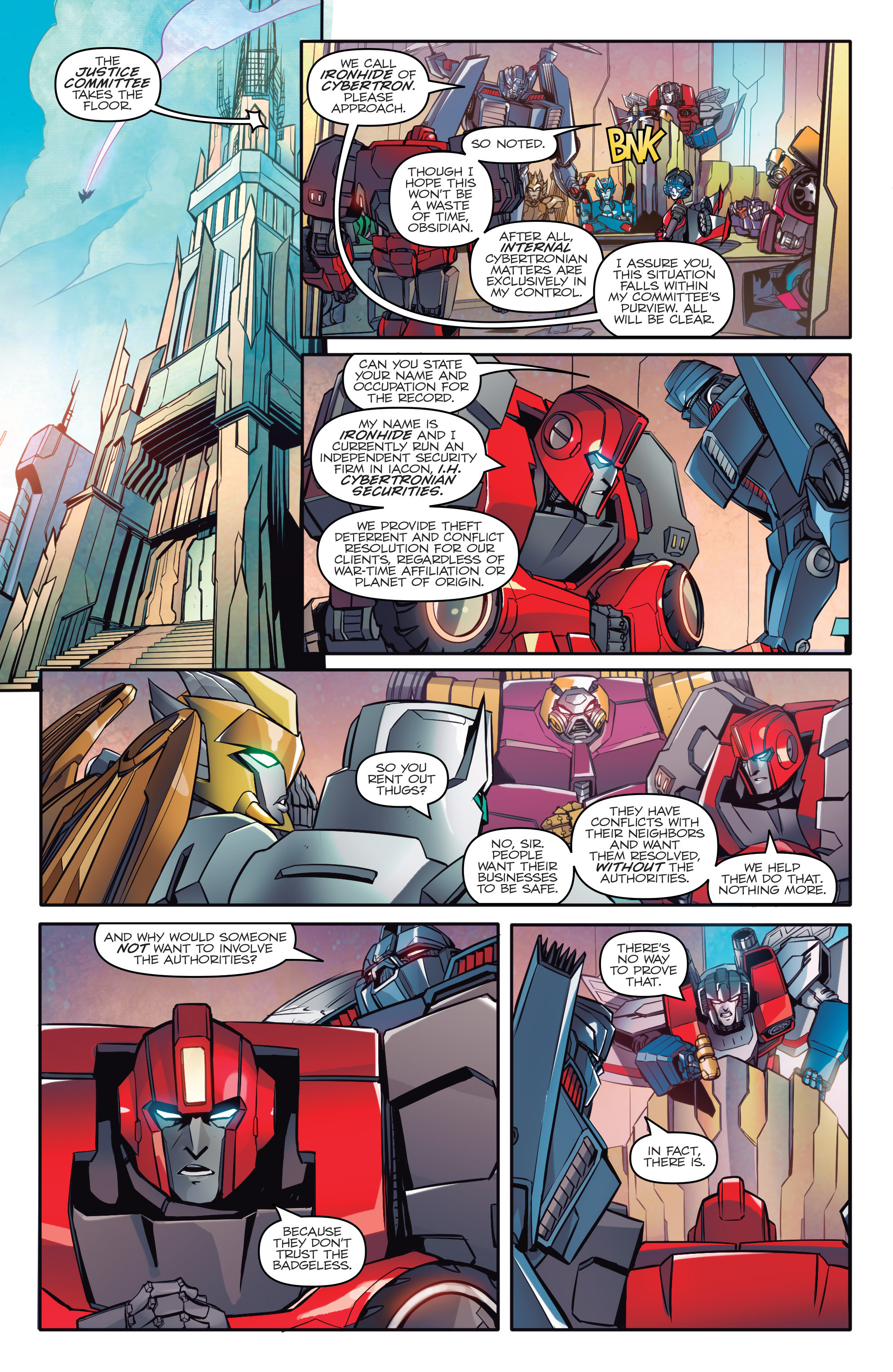 Read online Transformers: Till All Are One comic -  Issue #1 - 5