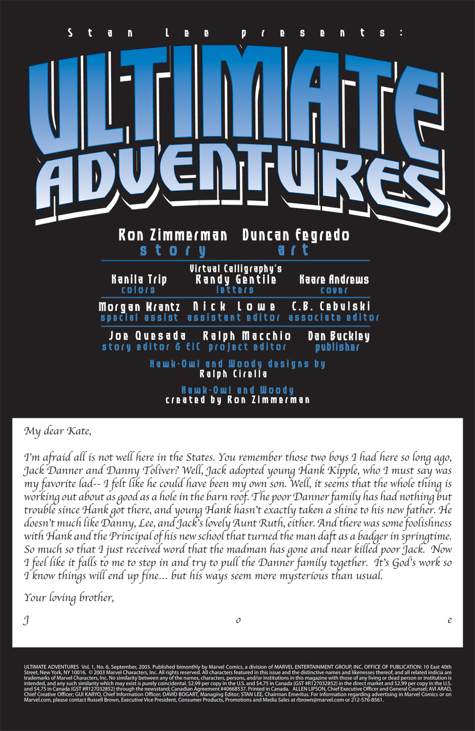 Read online Ultimate Adventures comic -  Issue #6 - 3
