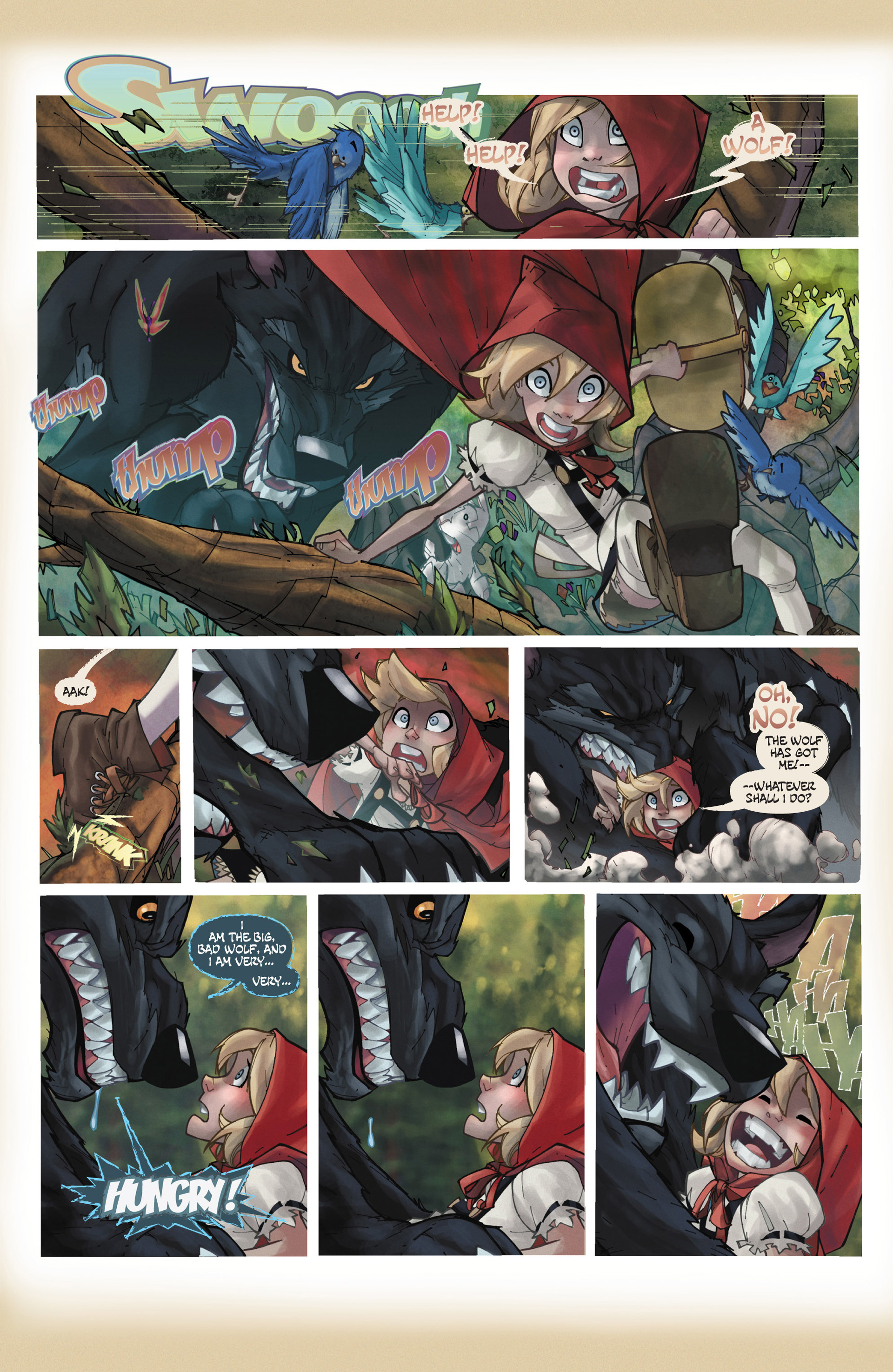 Read online Fairy Quest: Outlaws comic -  Issue #1 - 5