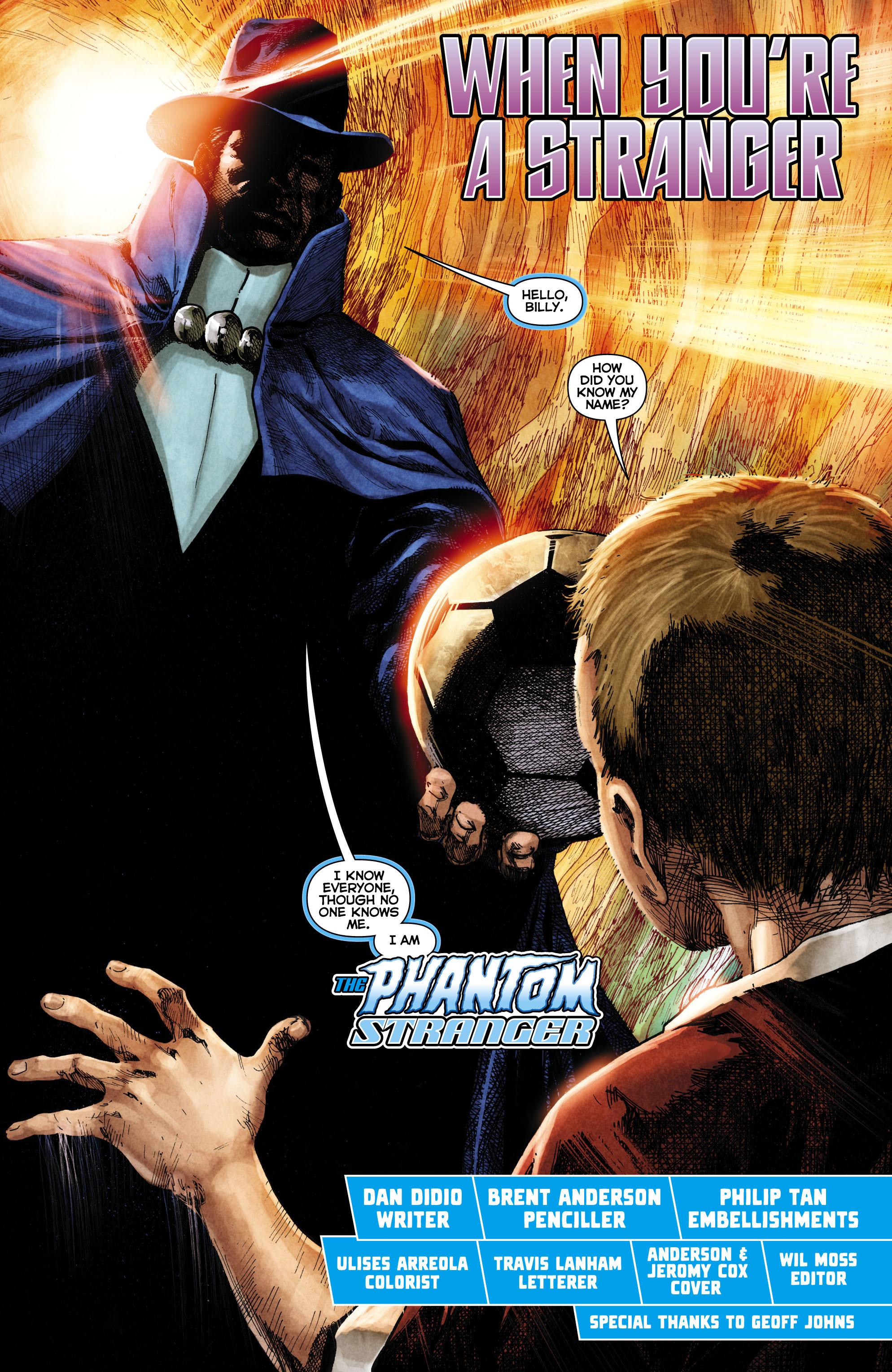 Read online Trinity of Sin: The Phantom Stranger comic -  Issue #1 - 3