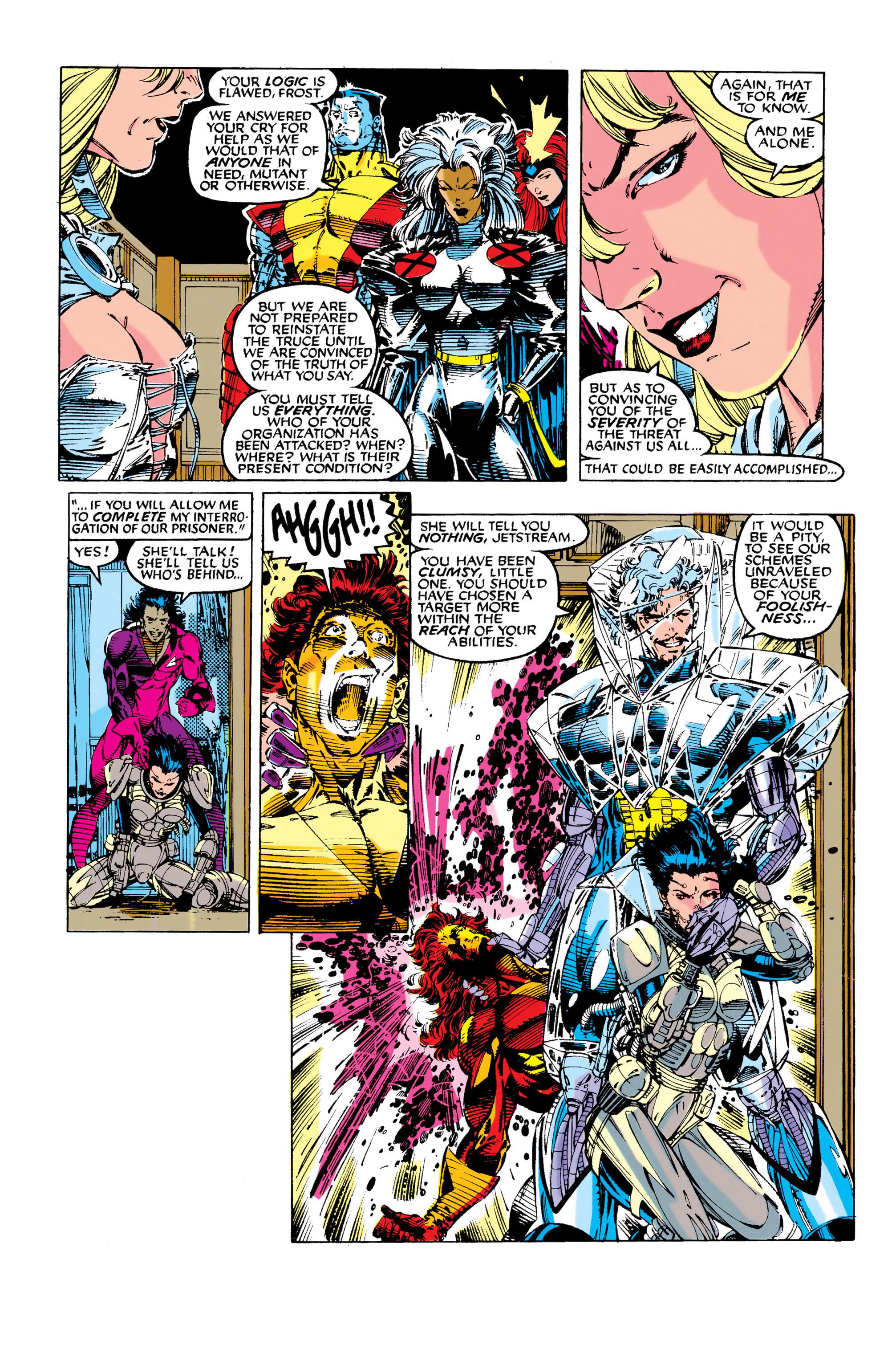 Read online Uncanny X-Men (1963) comic -  Issue #281 - 11