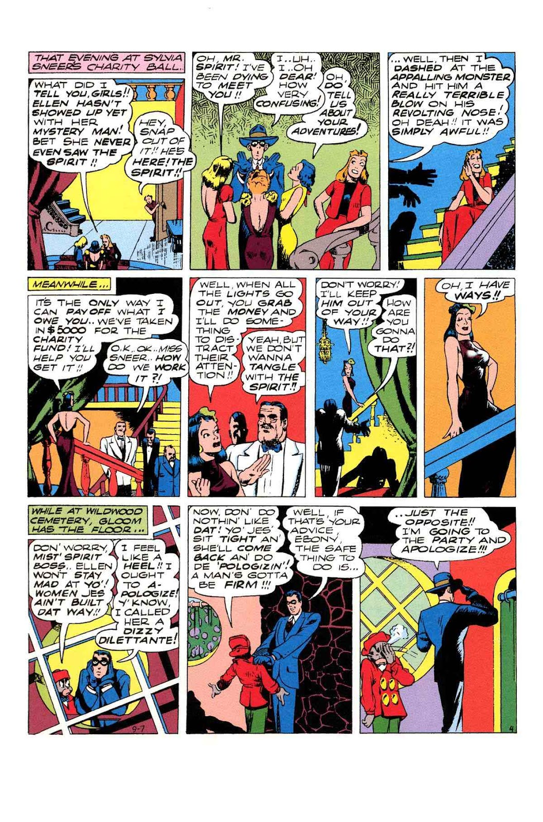 Read online Will Eisner's The Spirit Archives comic -  Issue # TPB 3 (Part 1) - 77