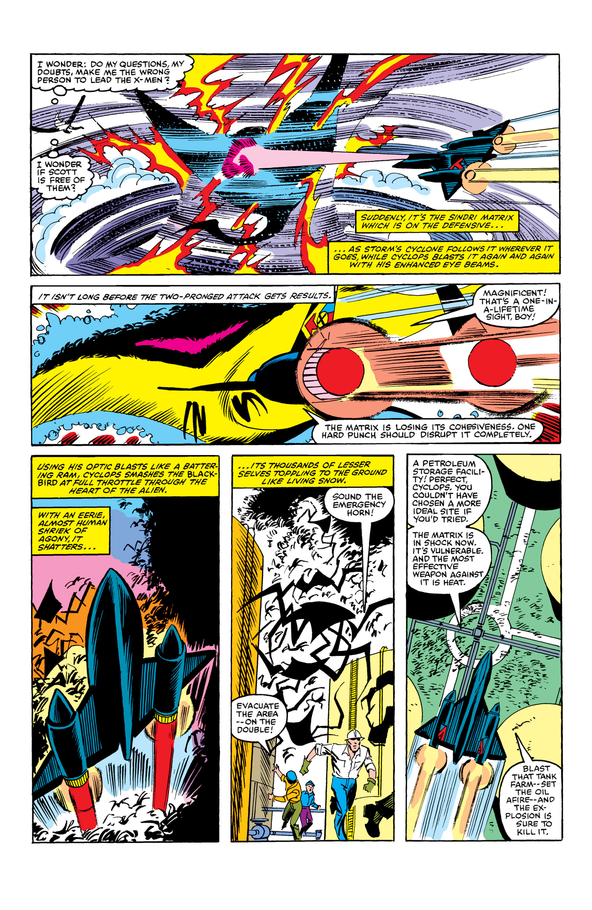 Read online Uncanny X-Men (1963) comic -  Issue #154 - 21