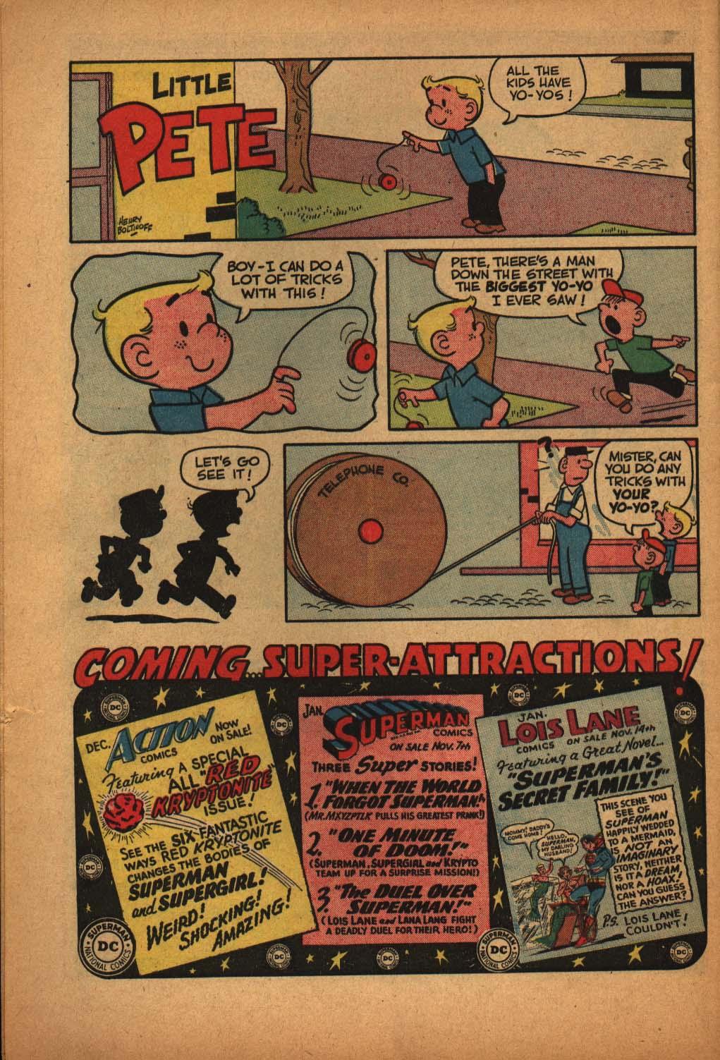 Read online Adventure Comics (1938) comic -  Issue #291 - 32