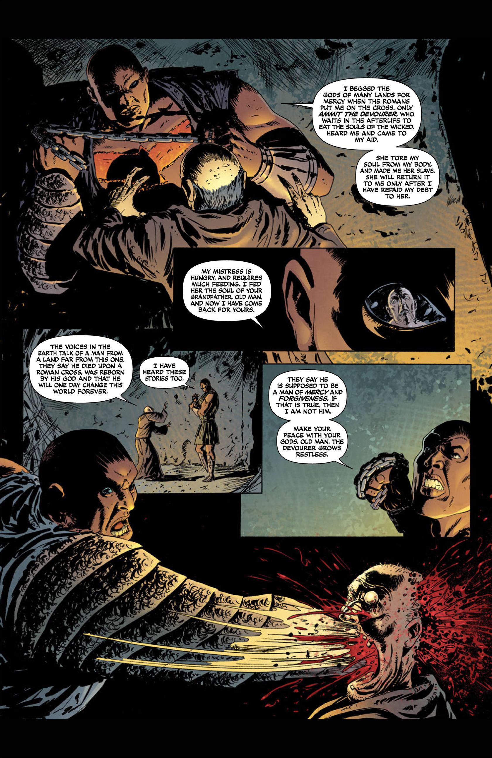 Read online Aquila comic -  Issue #1 - 12