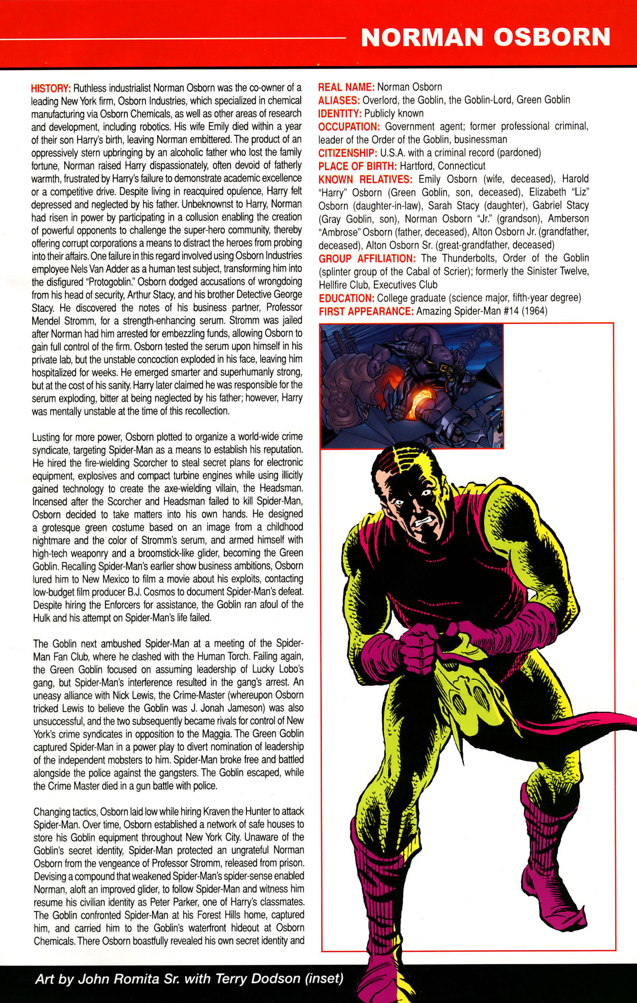 Read online All-New Official Handbook of the Marvel Universe A to Z: Update comic -  Issue #1 - 38