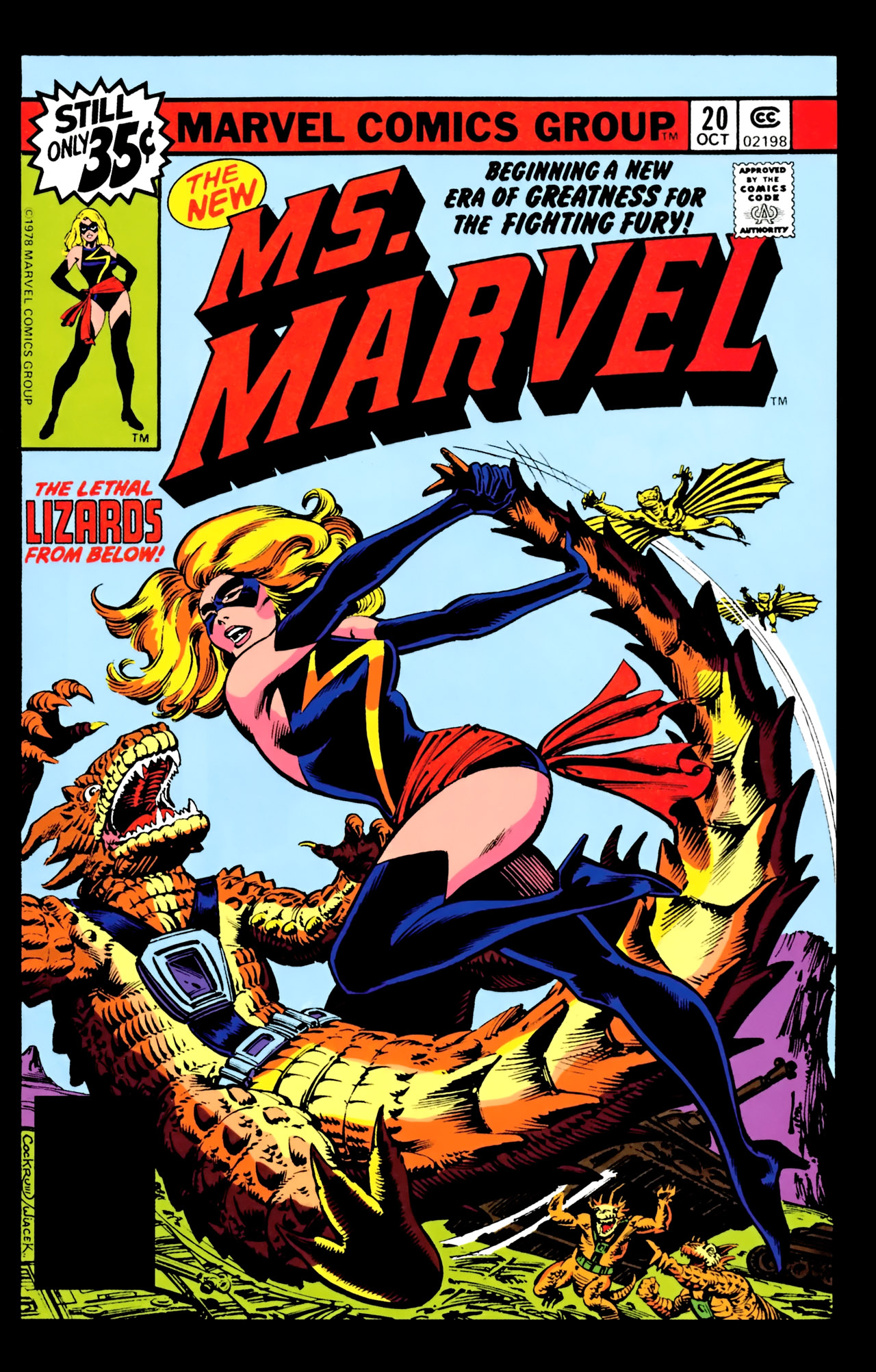 Read online Giant-Size Ms. Marvel comic -  Issue # Full - 73
