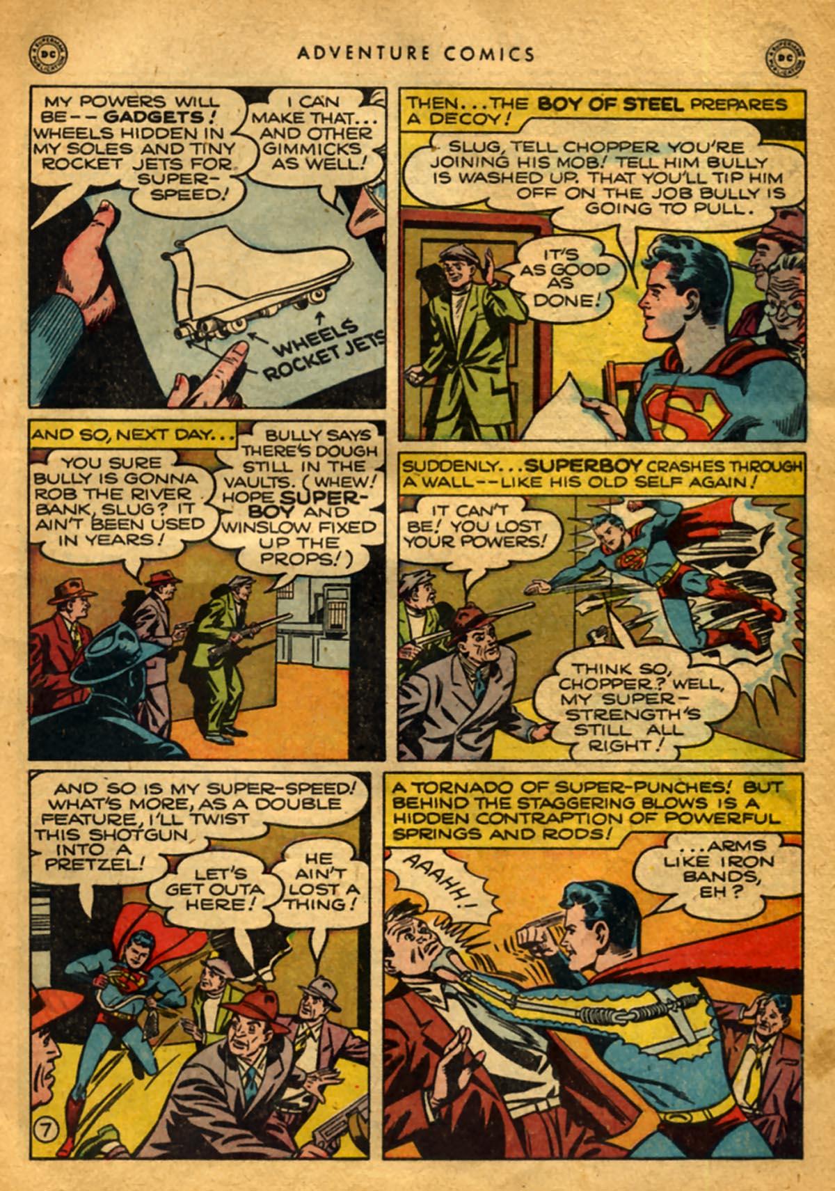 Read online Adventure Comics (1938) comic -  Issue #141 - 9