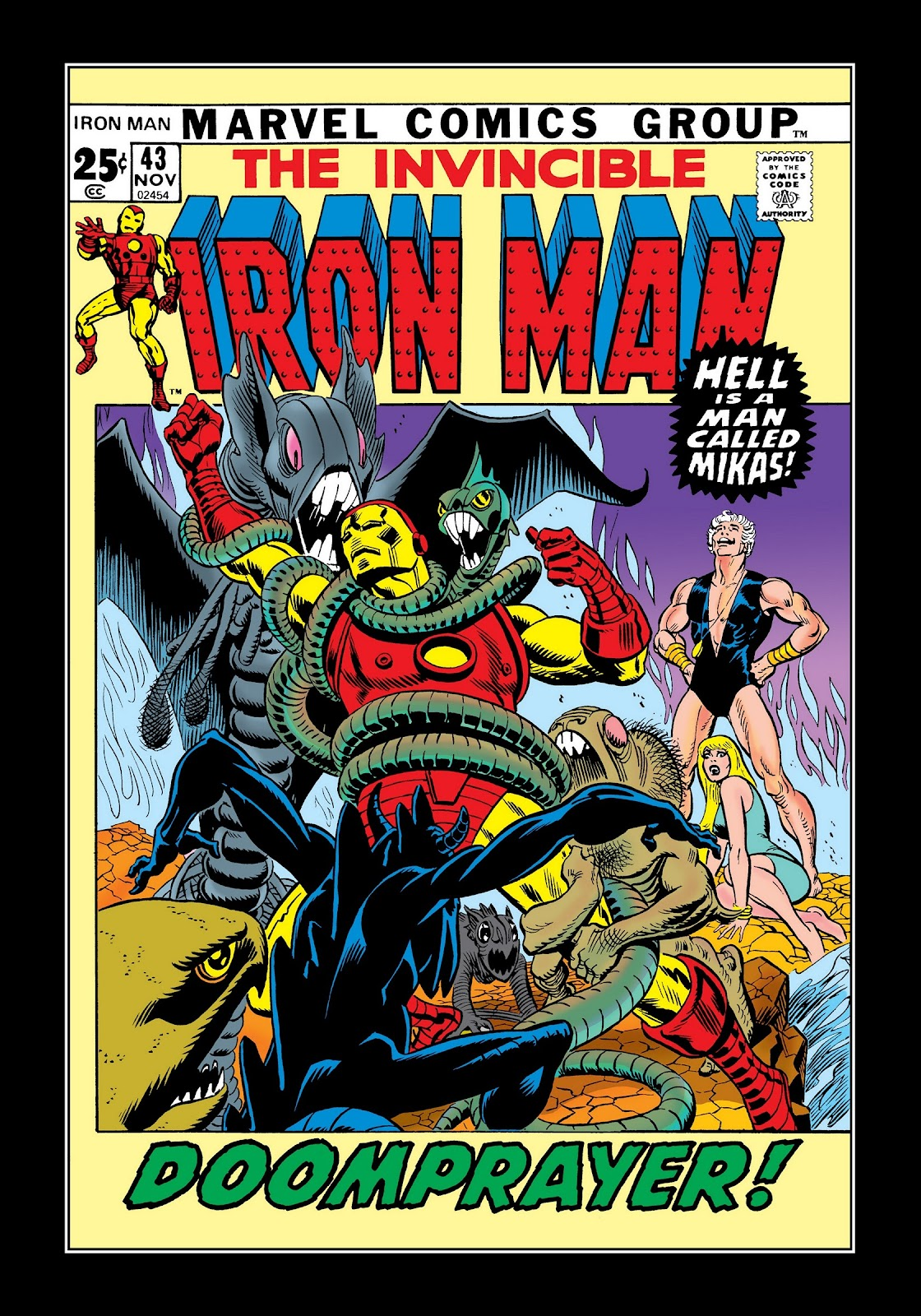 Read online Marvel Masterworks: The Invincible Iron Man comic -  Issue # TPB 8 (Part 1) - 87