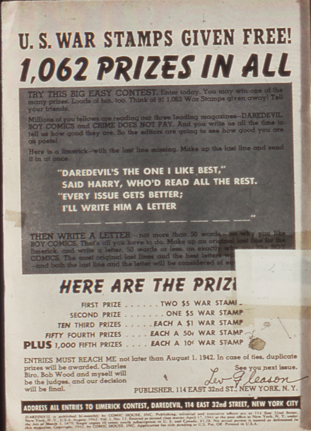 Daredevil (1941) 12 Page 2