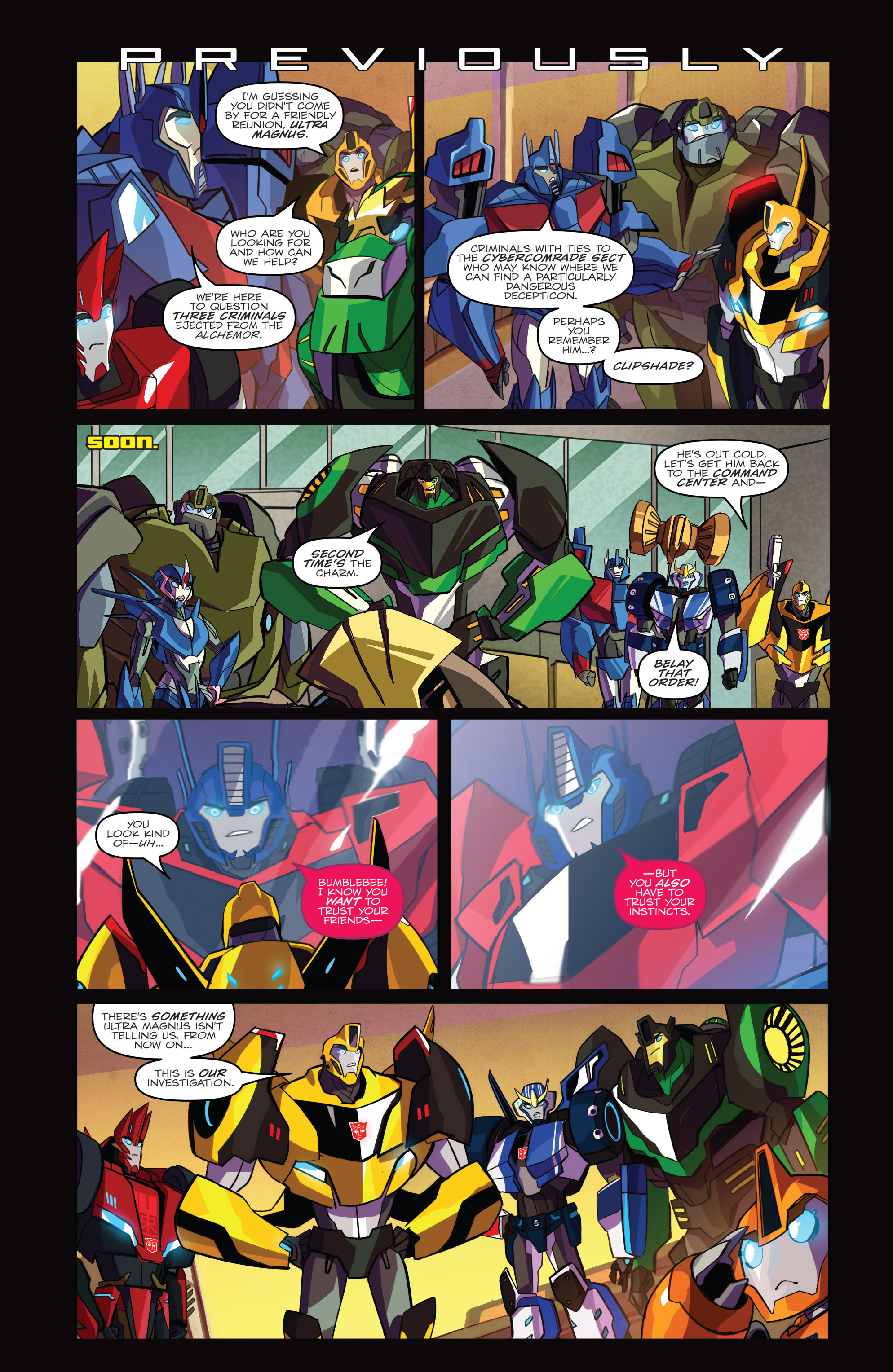 Read online Transformers: Robots In Disguise (2015) comic -  Issue #3 - 3