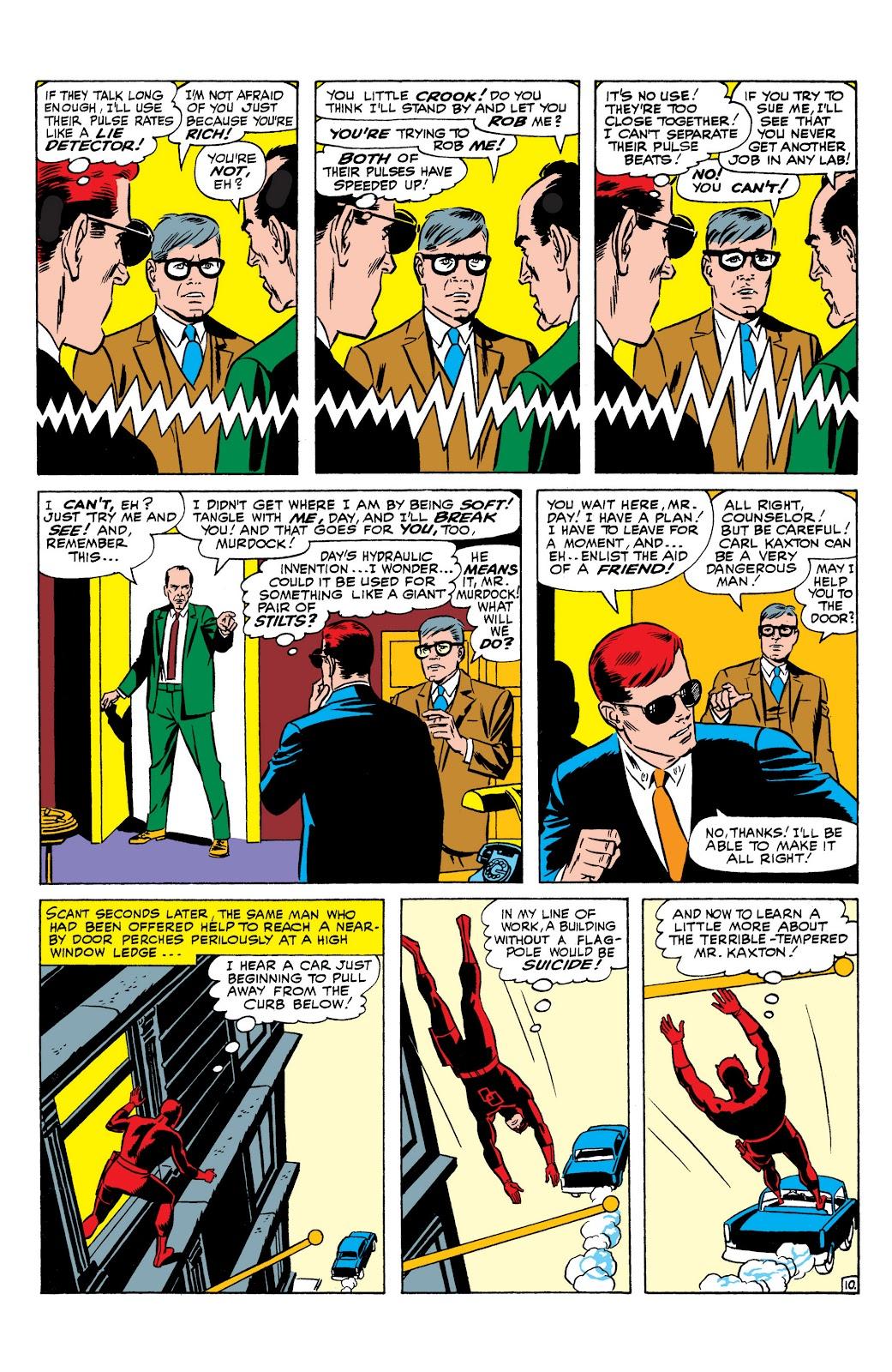 Read online Marvel Masterworks: Daredevil comic - Issue # TPB 1 (Part 2) - 74