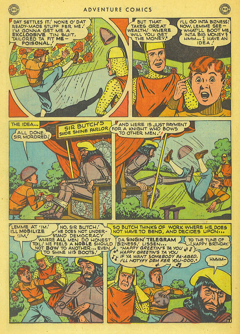 Read online Adventure Comics (1938) comic -  Issue #138 - 34