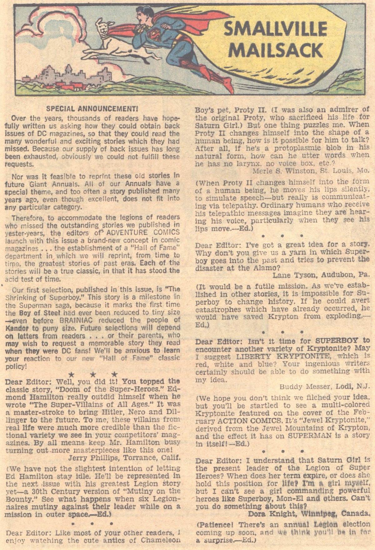 Read online Adventure Comics (1938) comic -  Issue #317 - 24