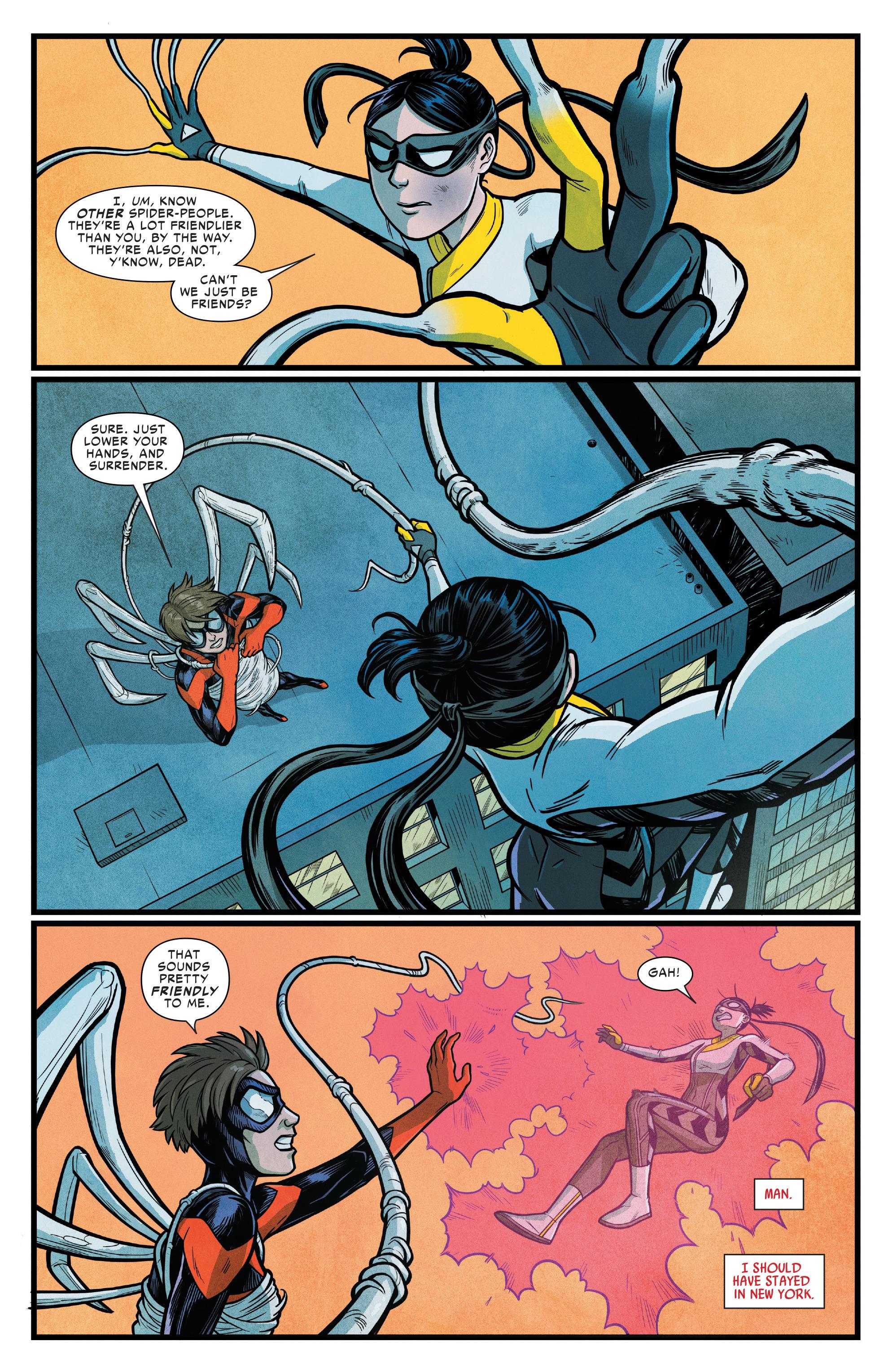 Read online Silk (2016) comic -  Issue #15 - 7
