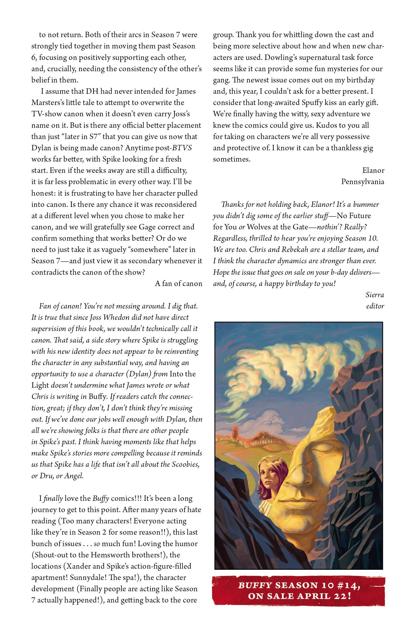 Read online Angel & Faith Season 10 comic -  Issue #13 - 26