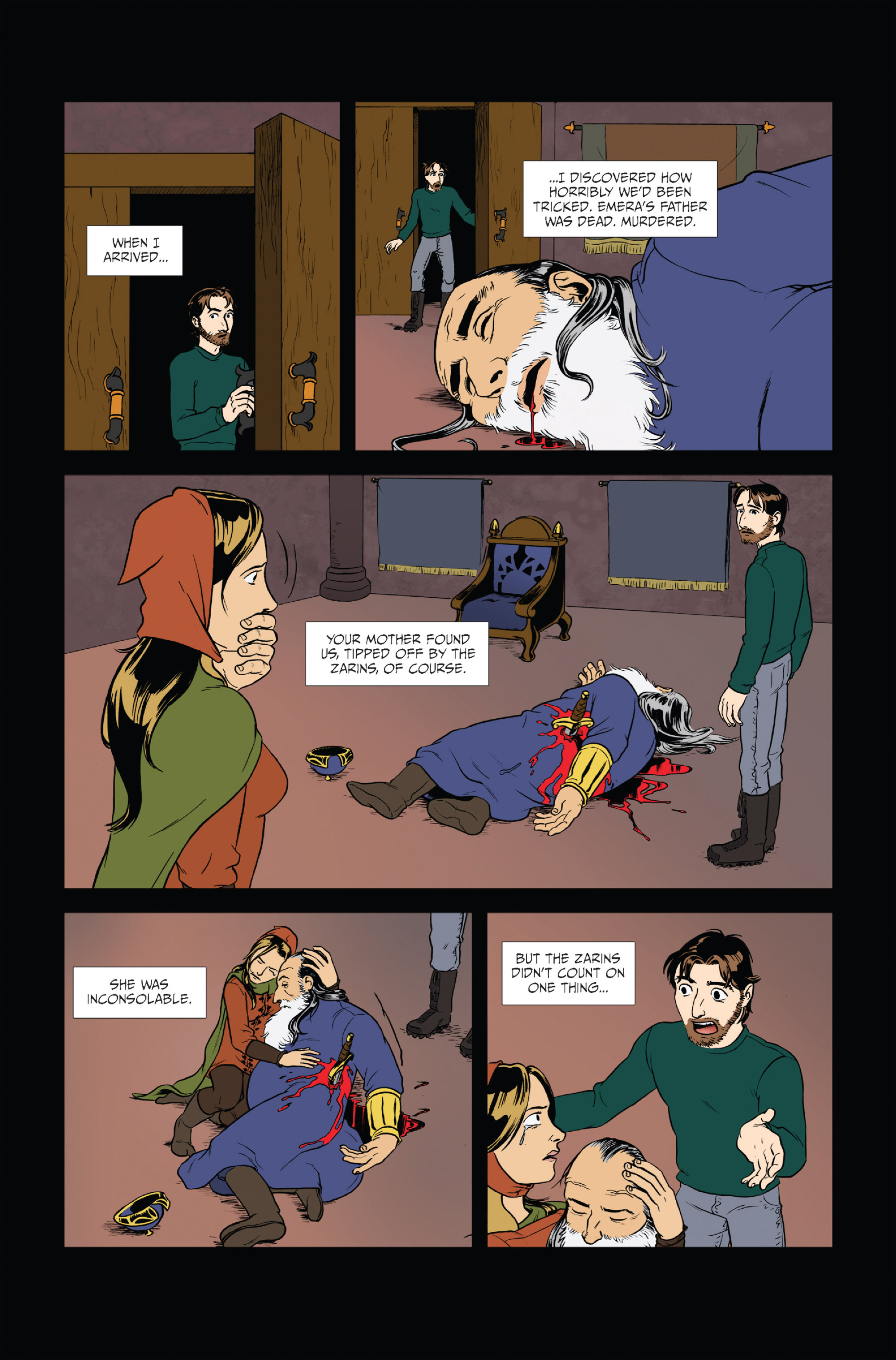 Read online Ehmm Theory: Everything & Small Doses comic -  Issue #1 - 17