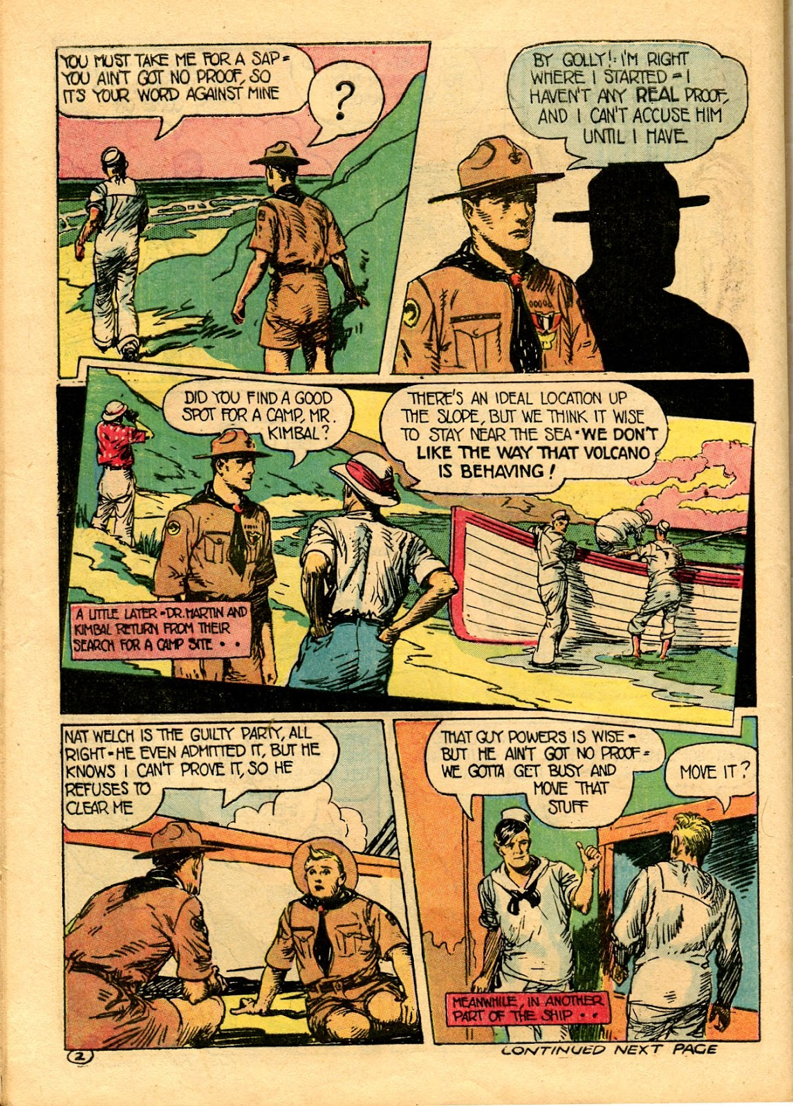 Read online Famous Funnies comic -  Issue #101 - 52