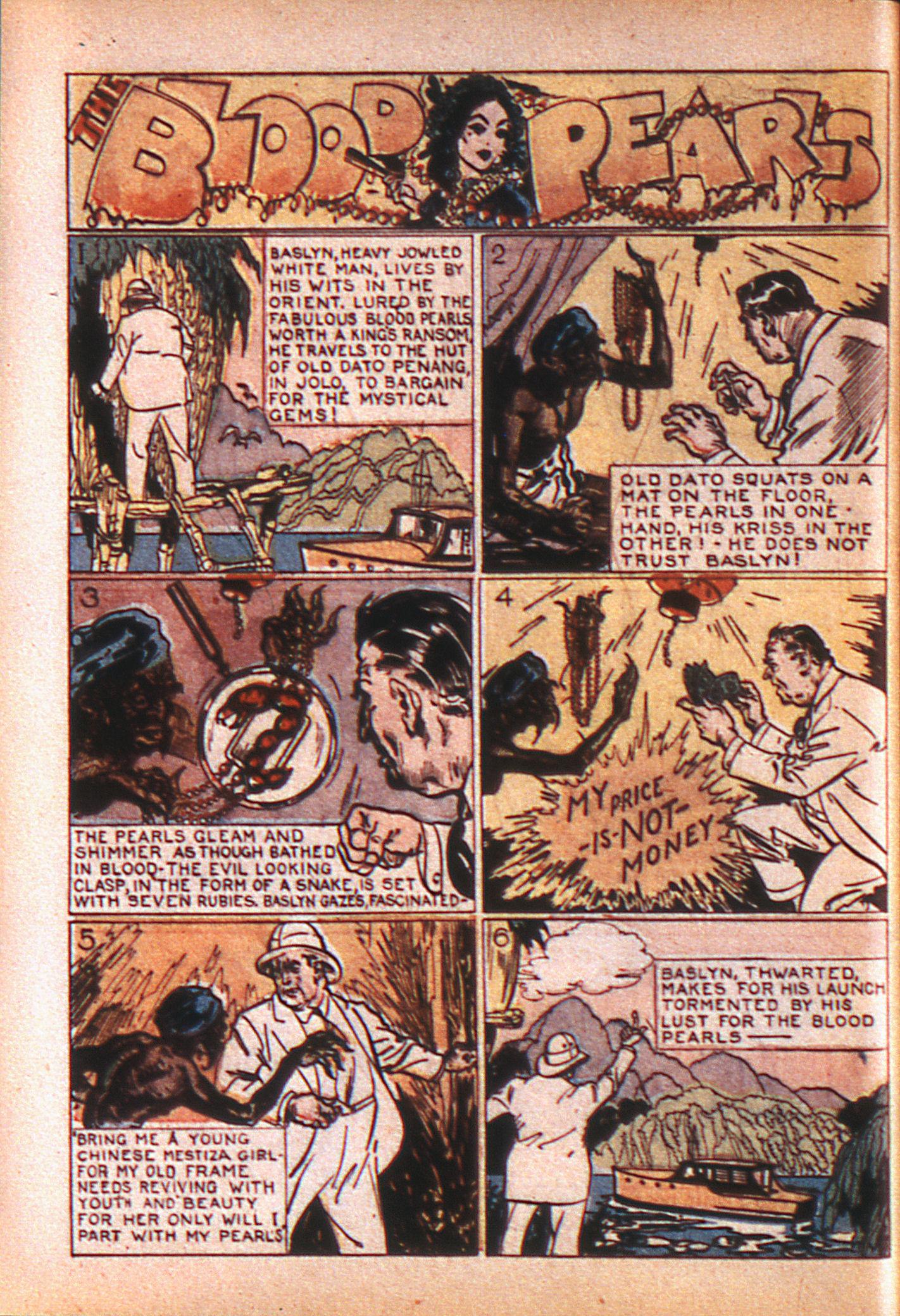 Read online Adventure Comics (1938) comic -  Issue #8 - 17