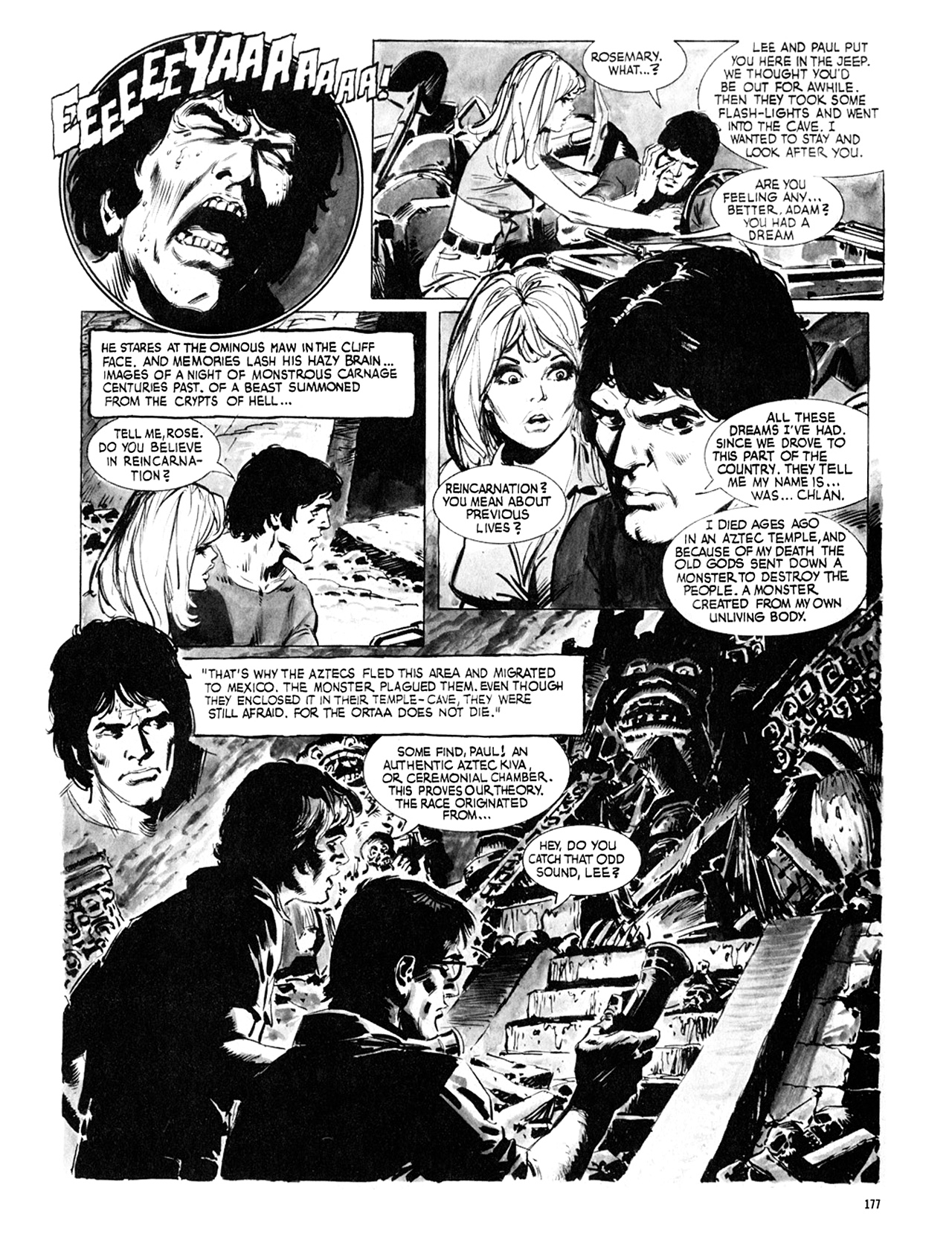 Read online Eerie Archives comic -  Issue # TPB 8 - 178