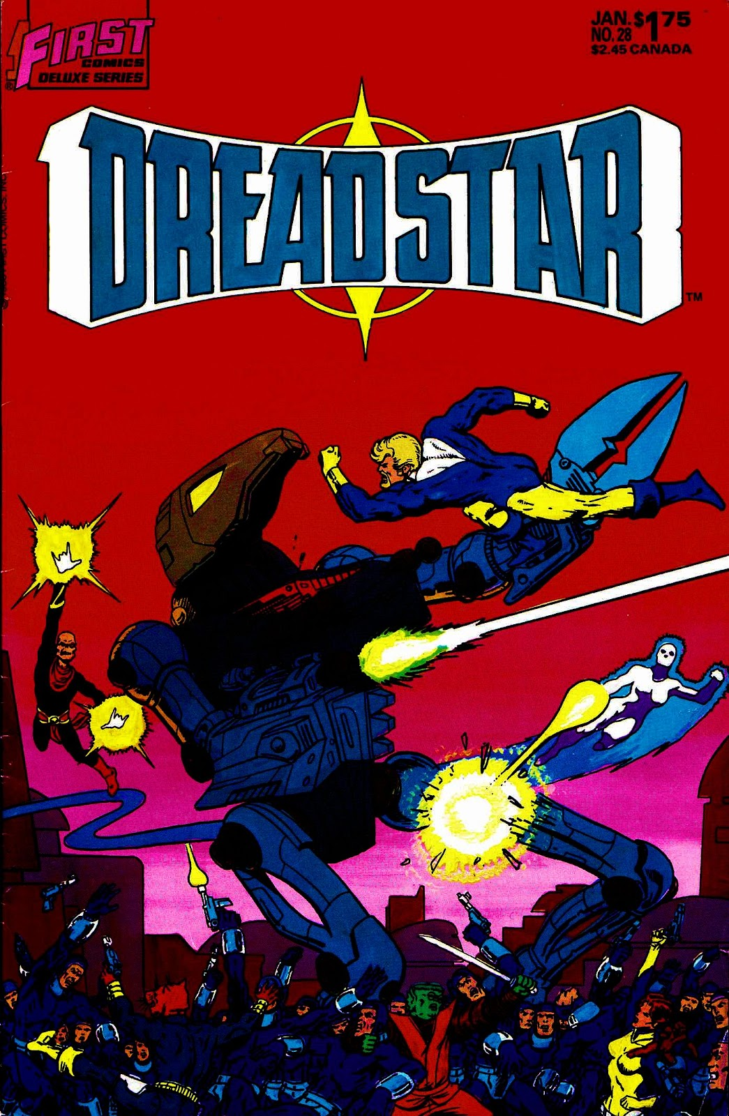 Dreadstar 28 Page 1