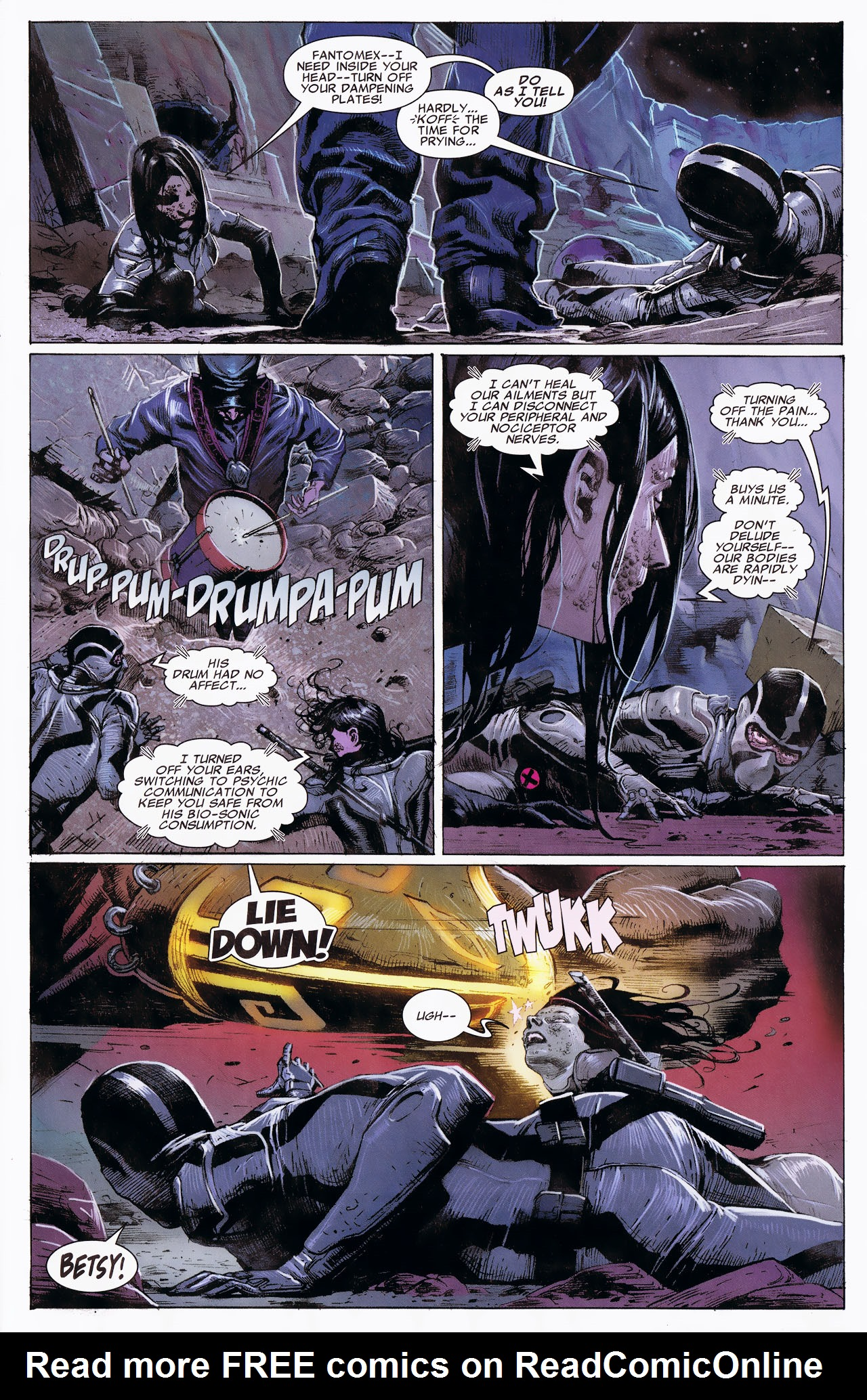 Read online Uncanny X-Force: The Apocalypse Solution comic -  Issue # Full - 59