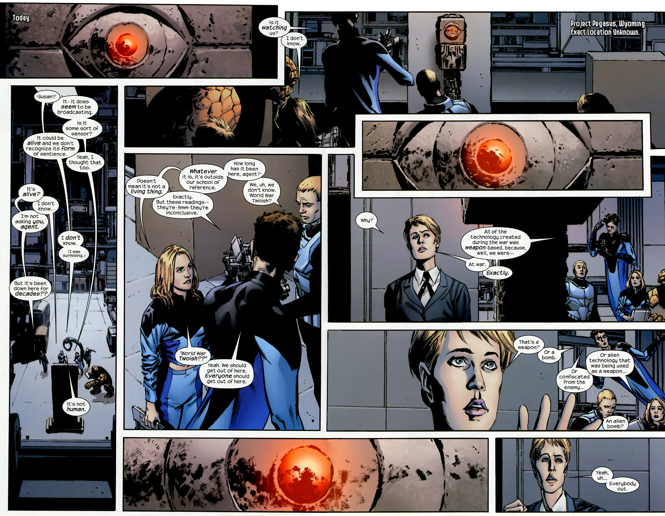 Read online Ultimate Origins comic -  Issue #3 - 3