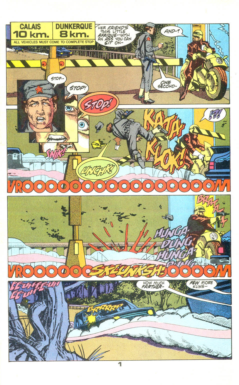 Read online American Flagg! comic -  Issue #23 - 2