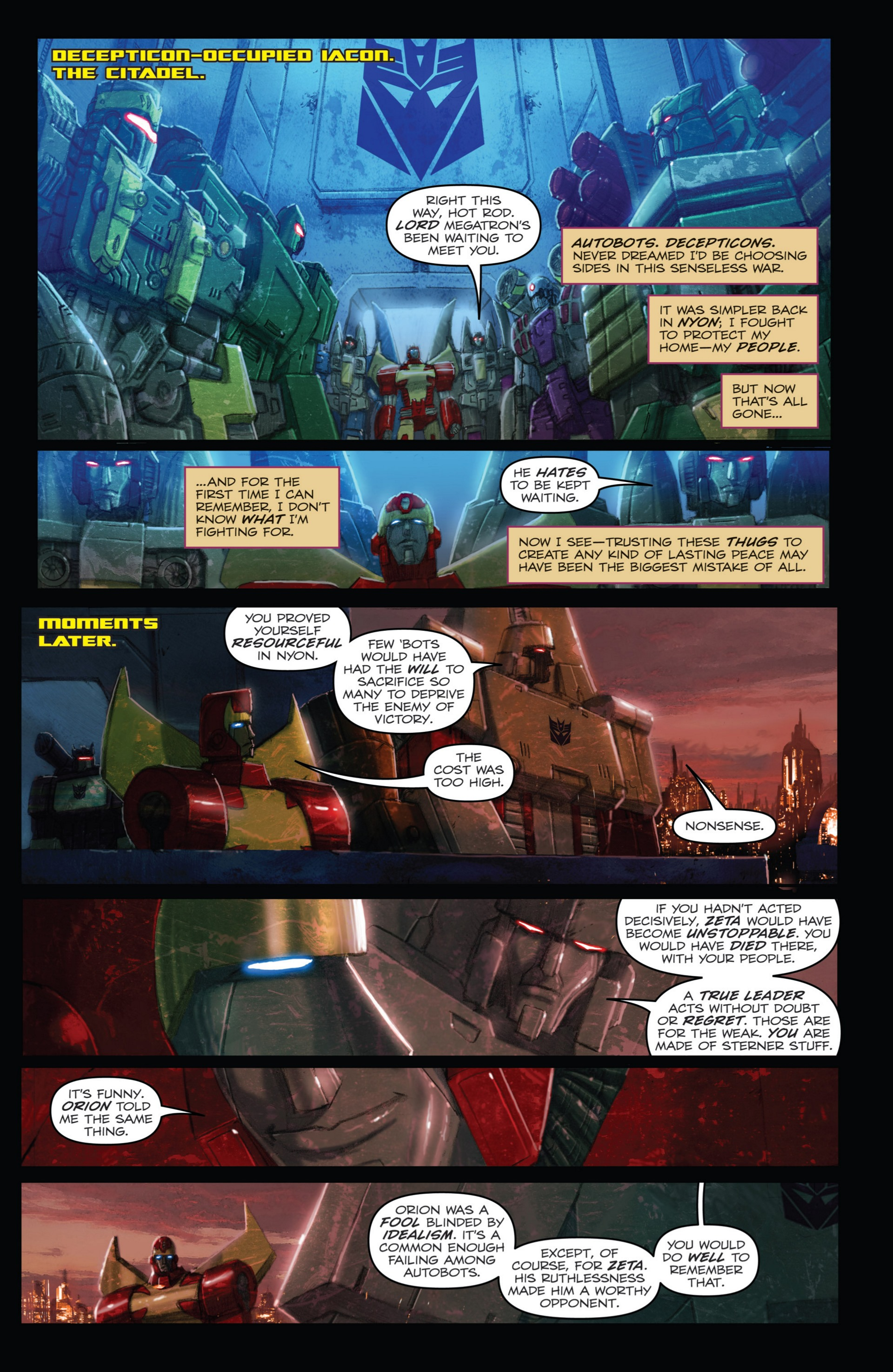 Read online Transformers: Autocracy comic -  Issue # Full - 89