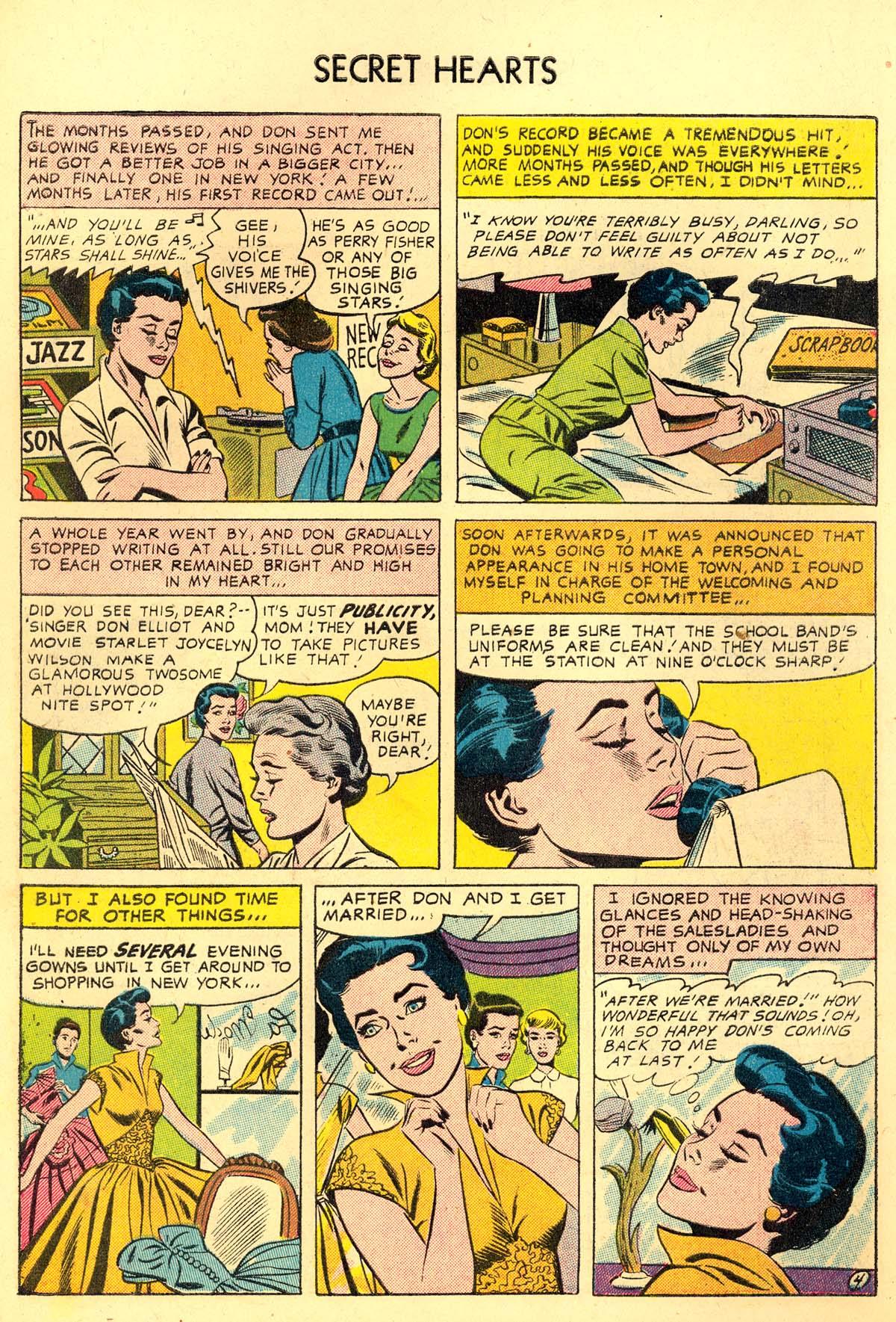 Read online Secret Hearts comic -  Issue #34 - 6