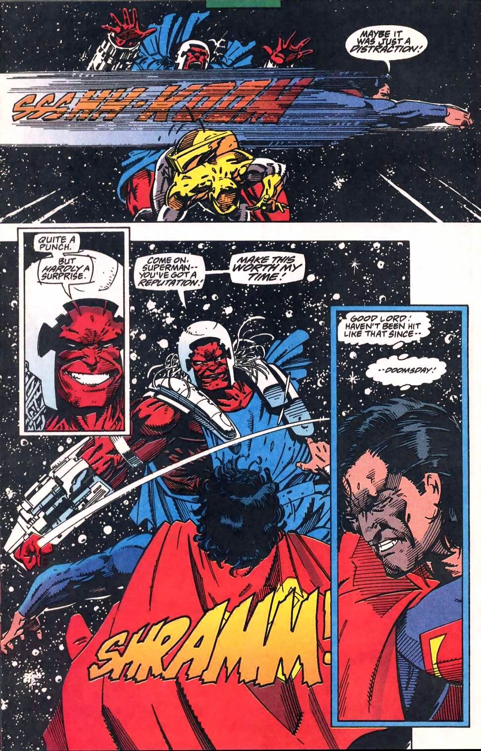 Read online Adventures of Superman (1987) comic -  Issue #509 - 18