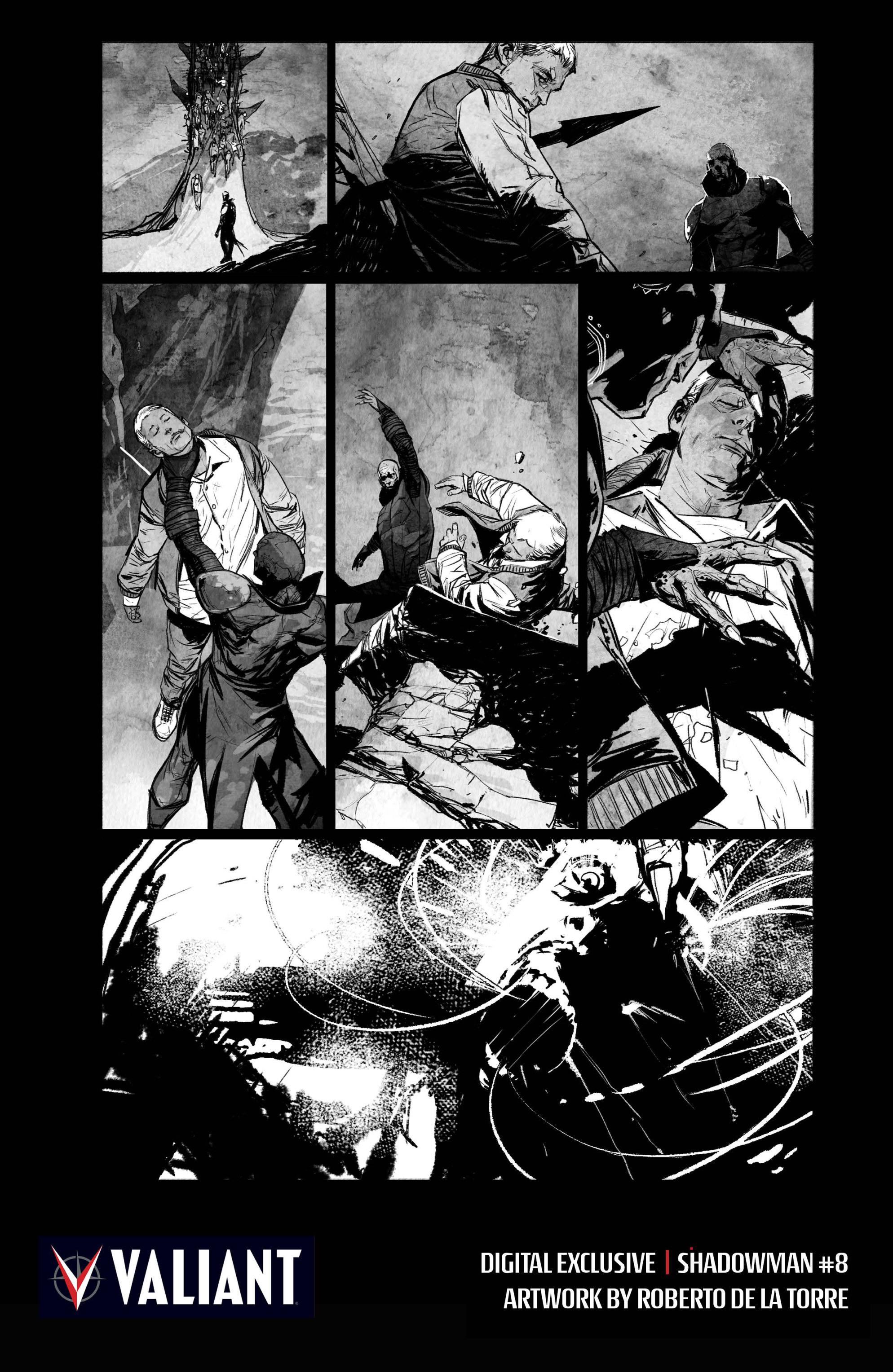 Read online Shadowman (2012) comic -  Issue #8 - 33