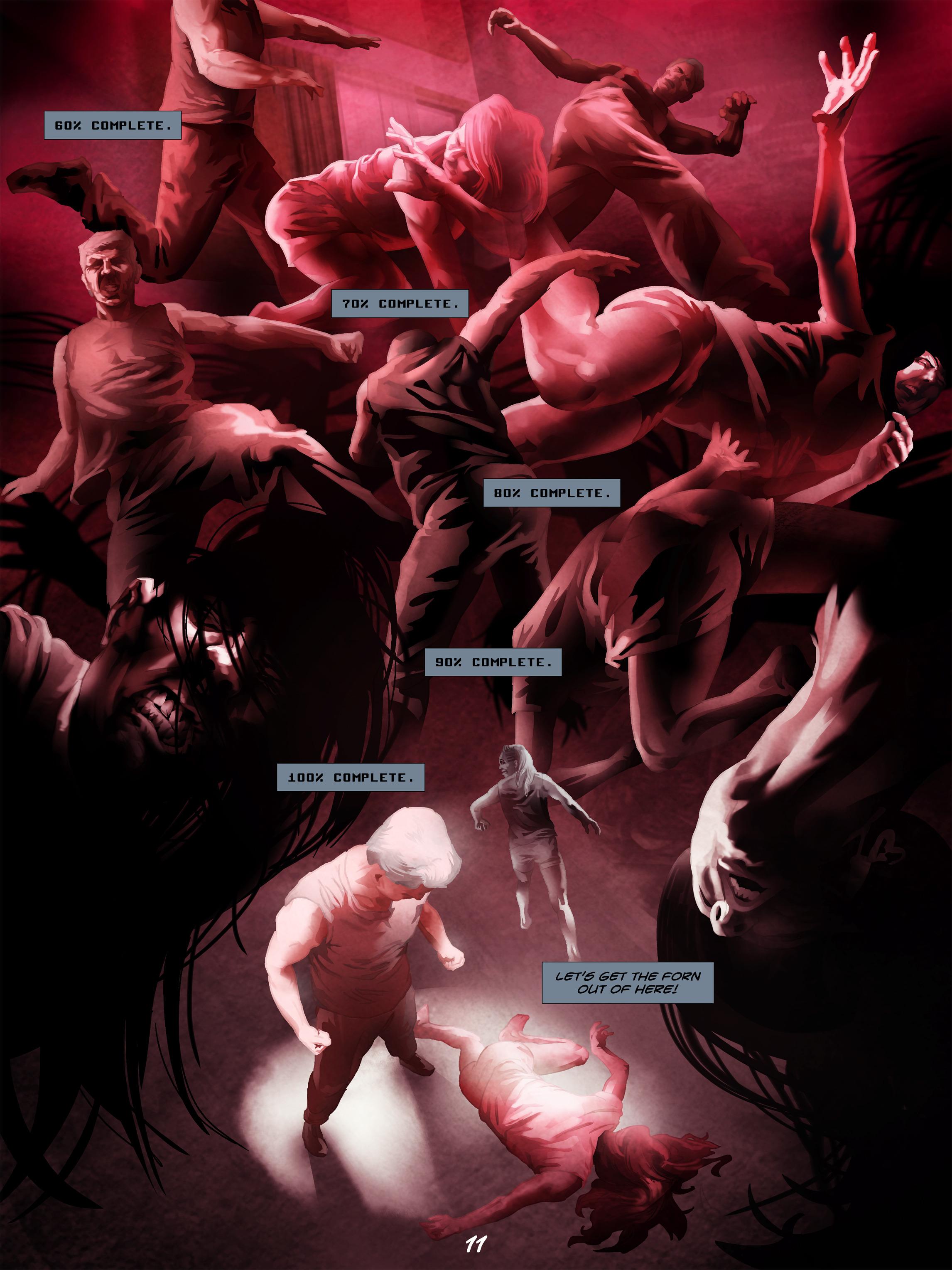 Read online Wynter comic -  Issue #5 - 12