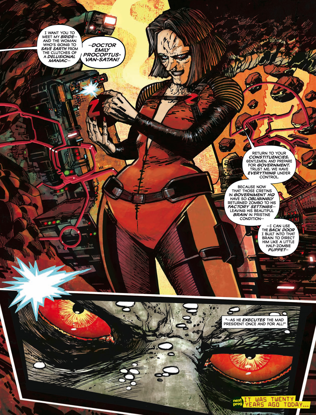 Read online 2000 AD comic -  Issue #1746 - 145