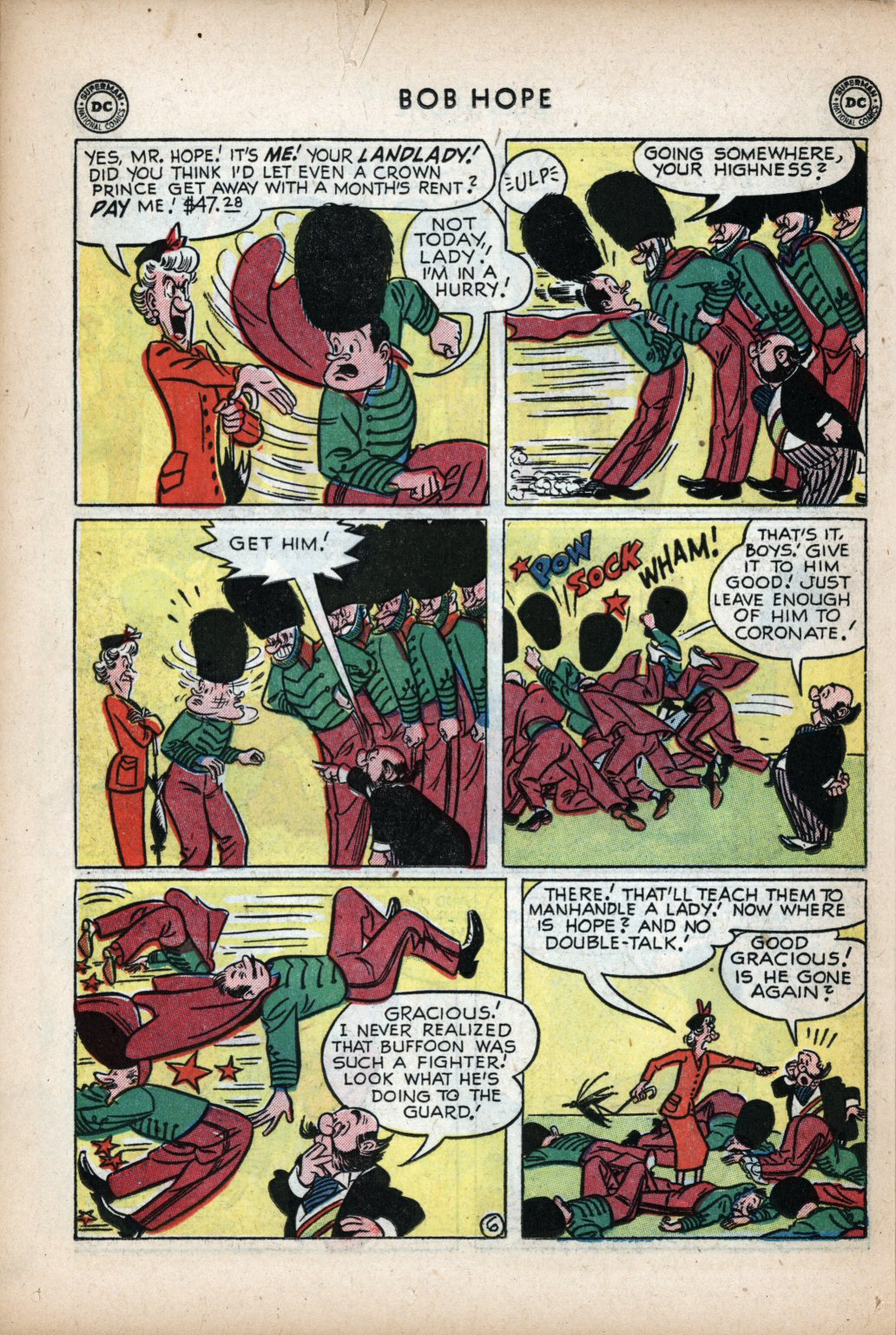 The Adventures of Bob Hope issue 11 - Page 28
