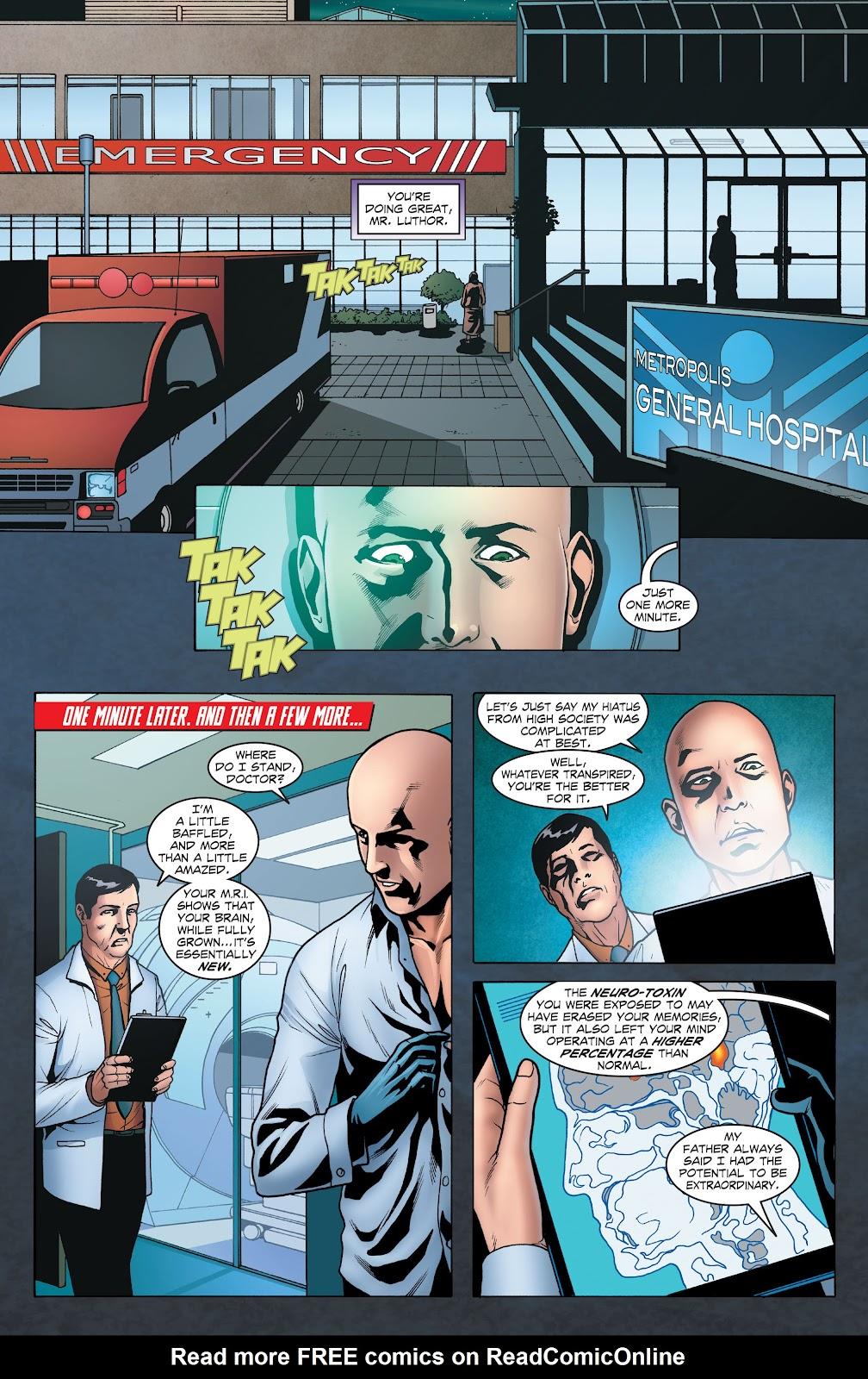 Read online Smallville Season 11 [II] comic -  Issue # TPB 1 - 39