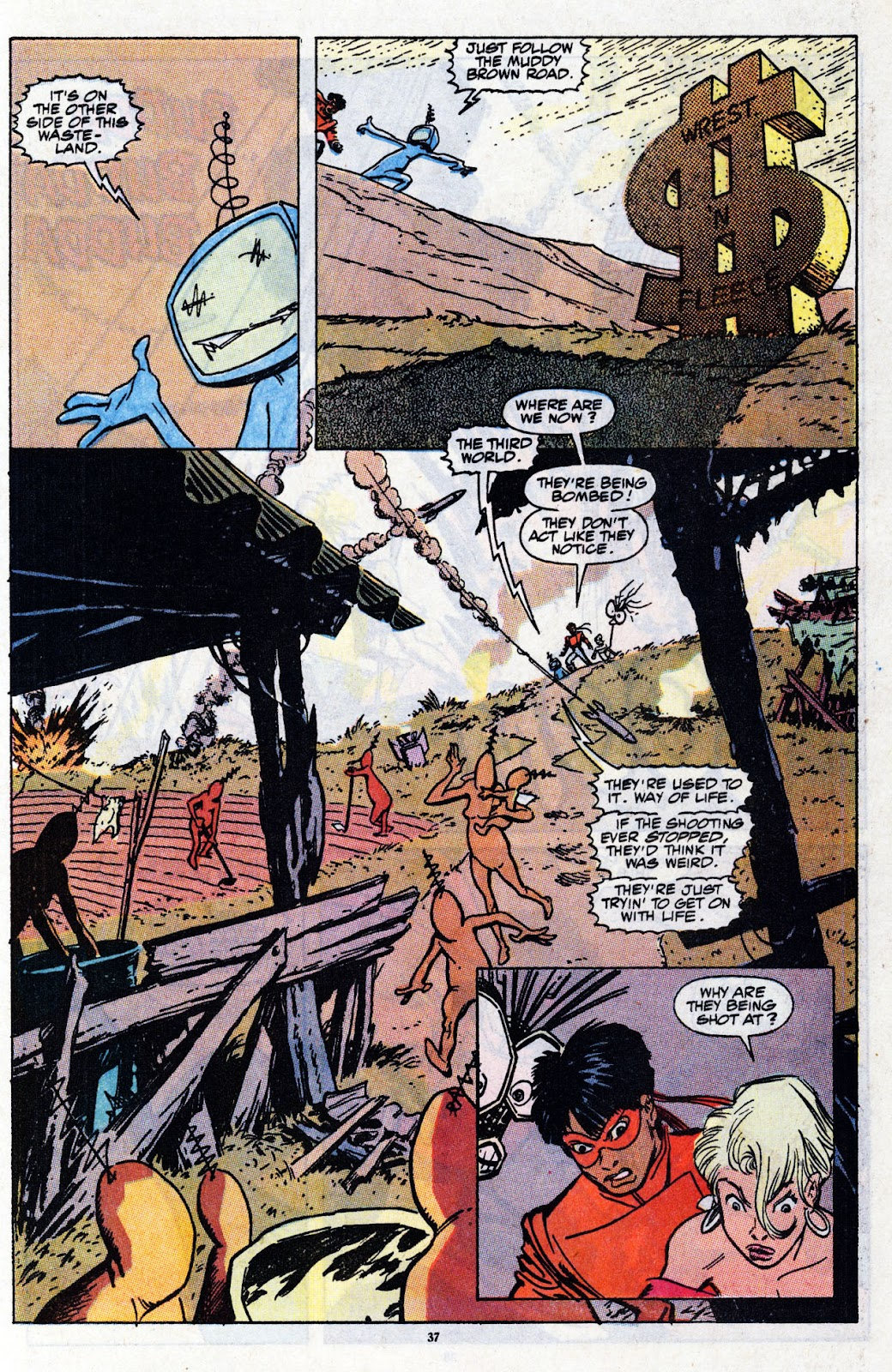 The New Mutants Summer Special issue Full - Page 39