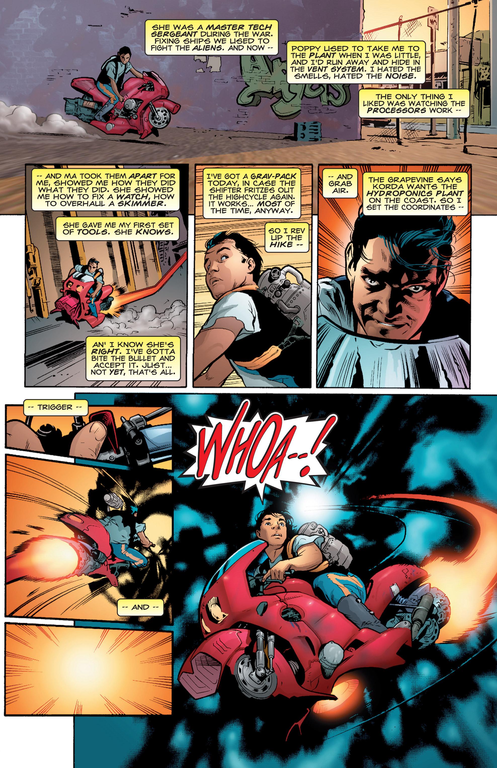 Read online Shockrockets comic -  Issue # TPB - 14