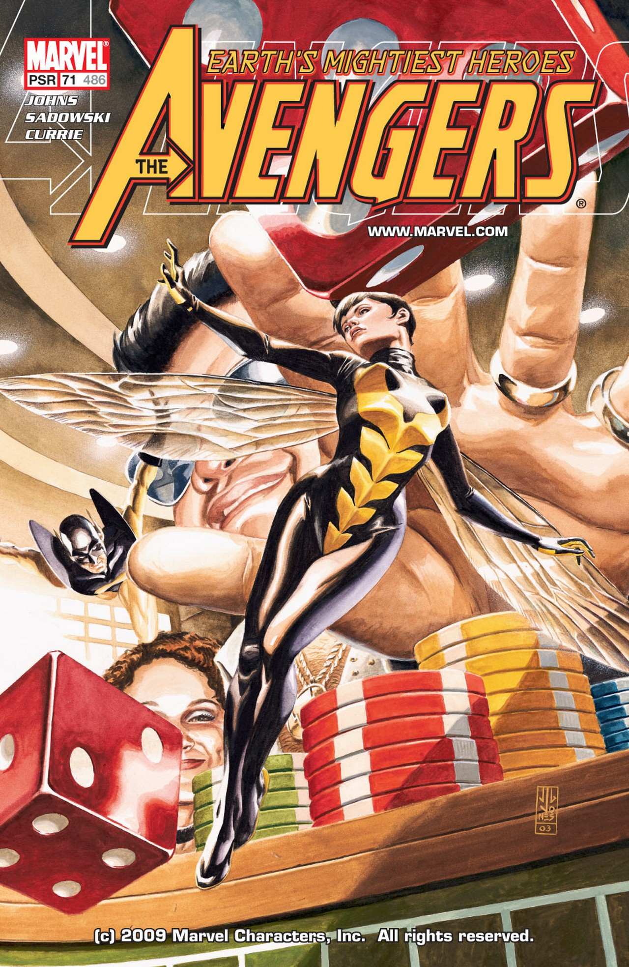 Read online Avengers (1998) comic -  Issue #71 - 1
