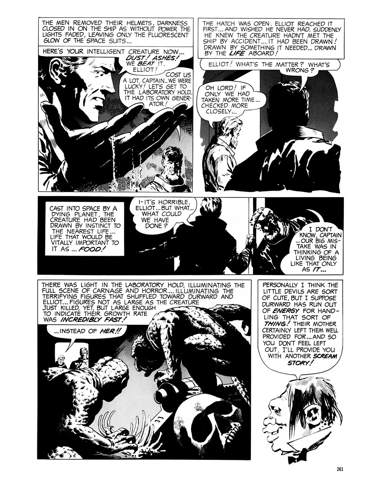 Read online Eerie Archives comic -  Issue # TPB 2 - 262