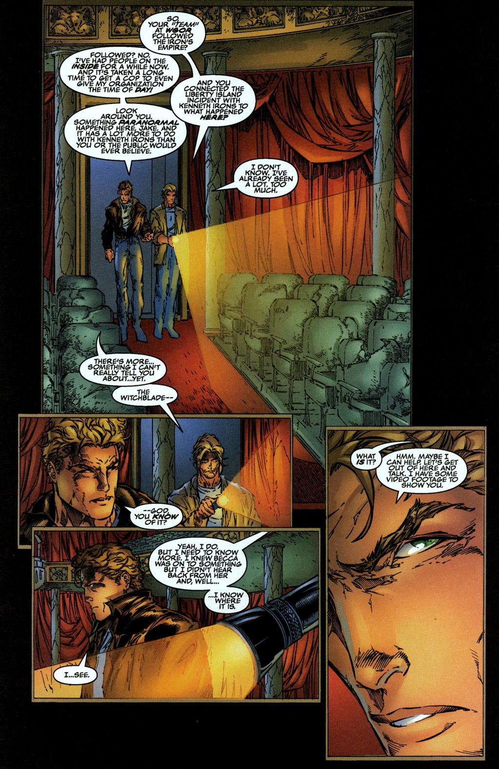 Read online The Darkness (1996) comic -  Issue #0 - 15