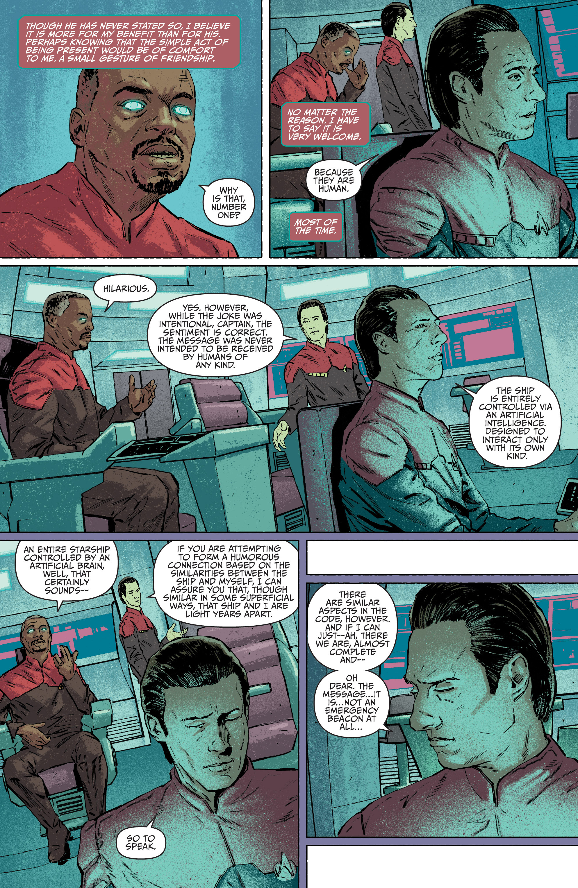 Read online Star Trek: Deviations comic -  Issue # Full - 46