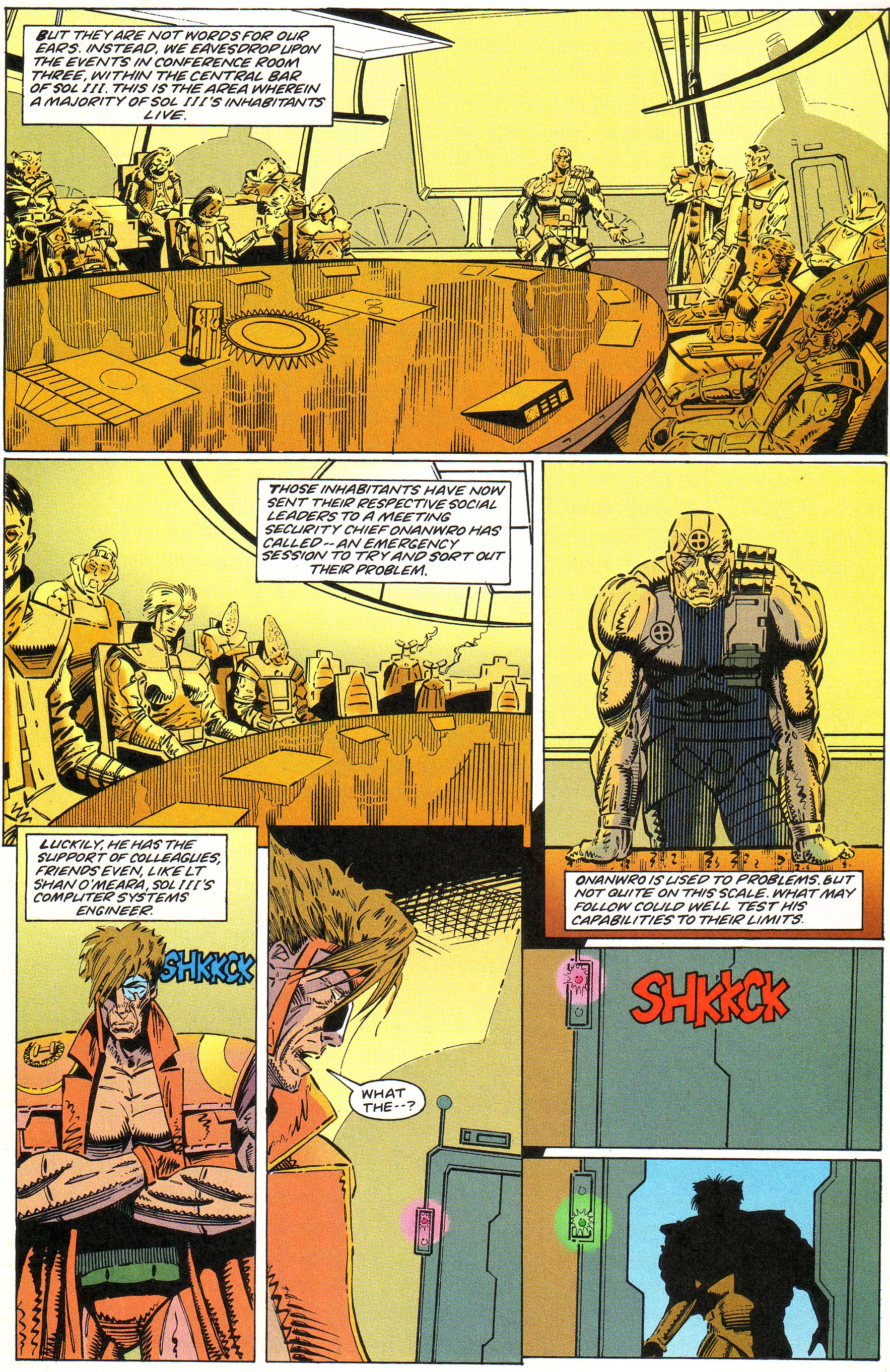 Read online Cyberspace 3000 comic -  Issue #1 - 9