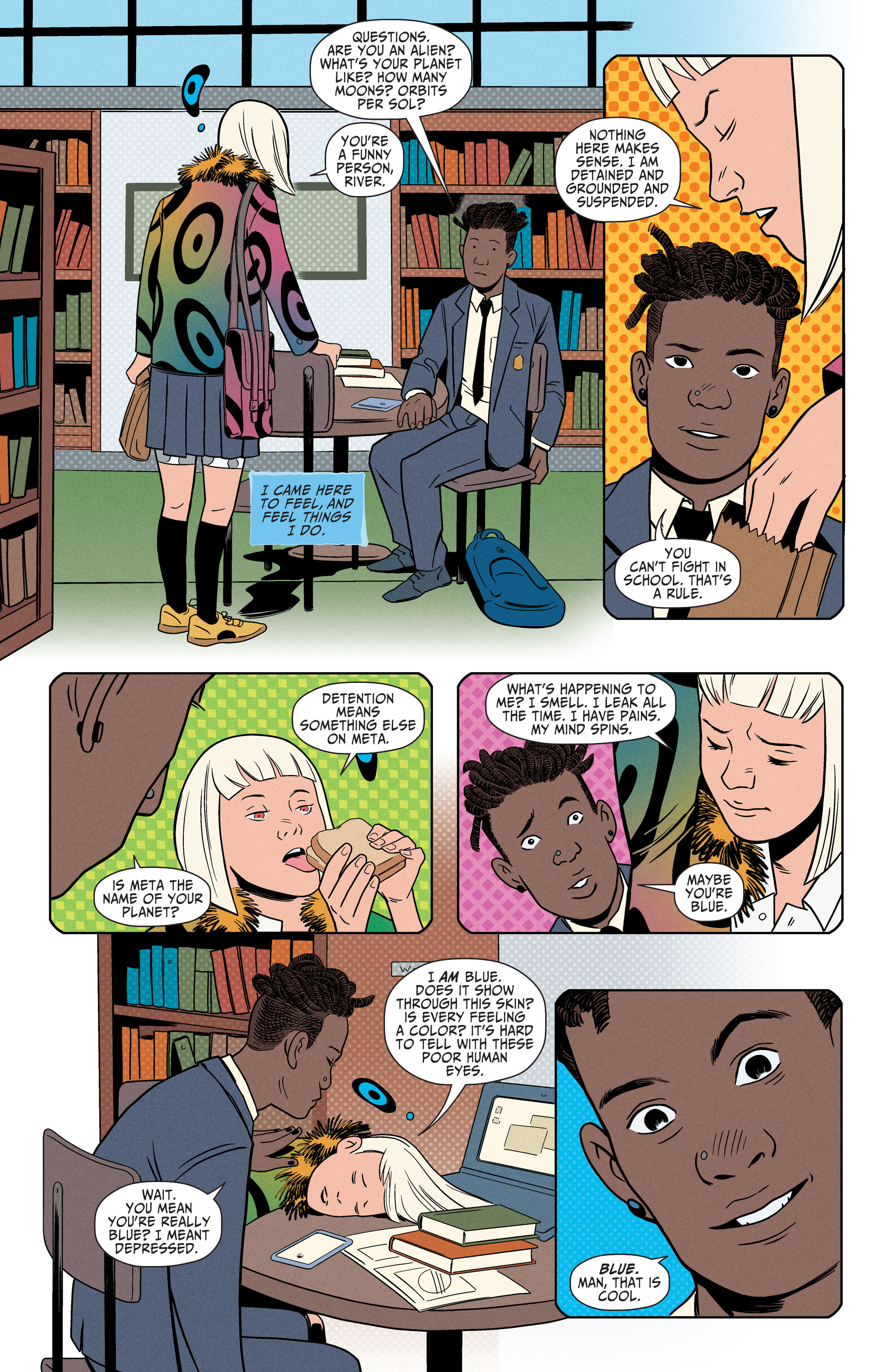 Read online Shade, the Changing Girl comic -  Issue #4 - 14