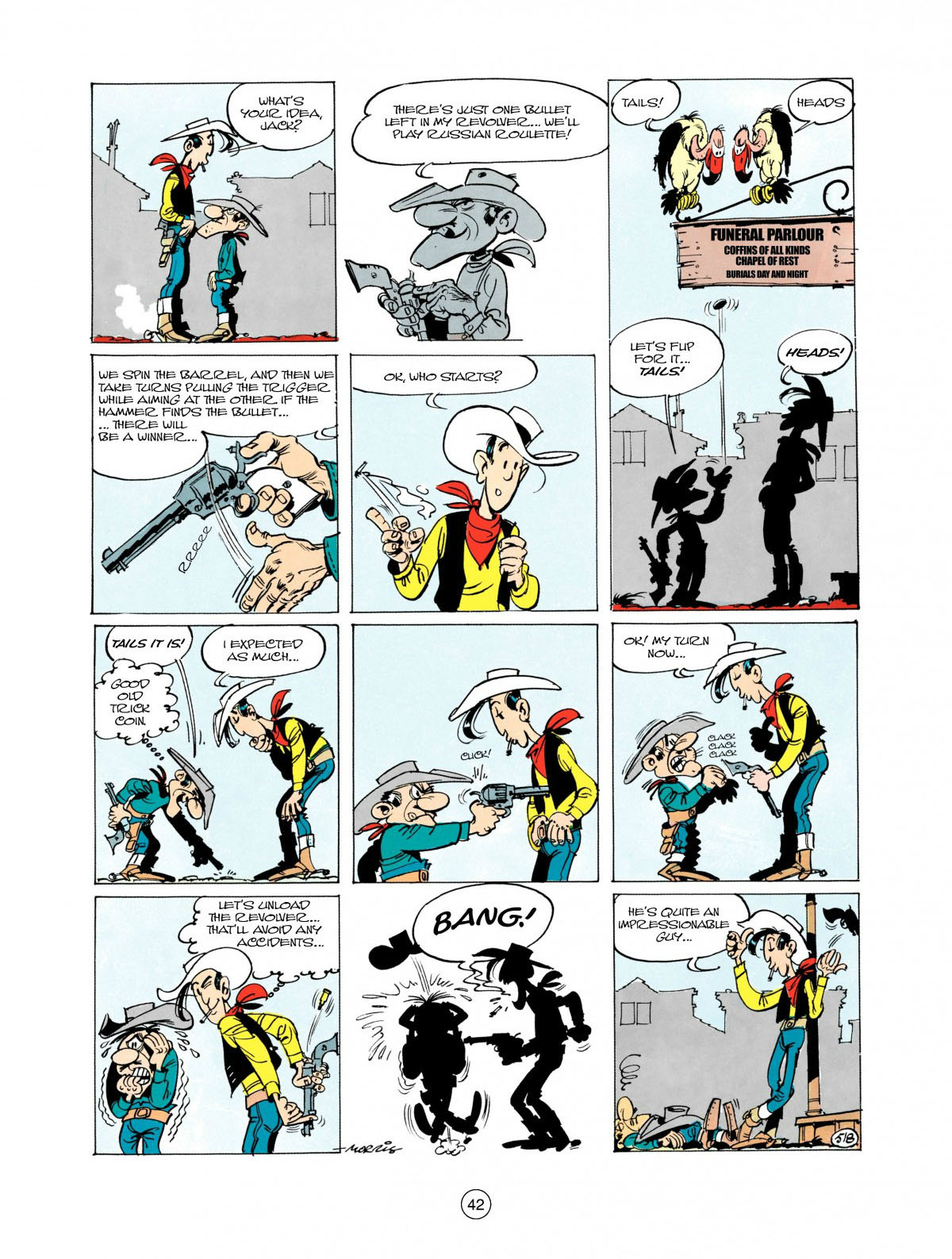 Read online A Lucky Luke Adventure comic -  Issue #28 - 43