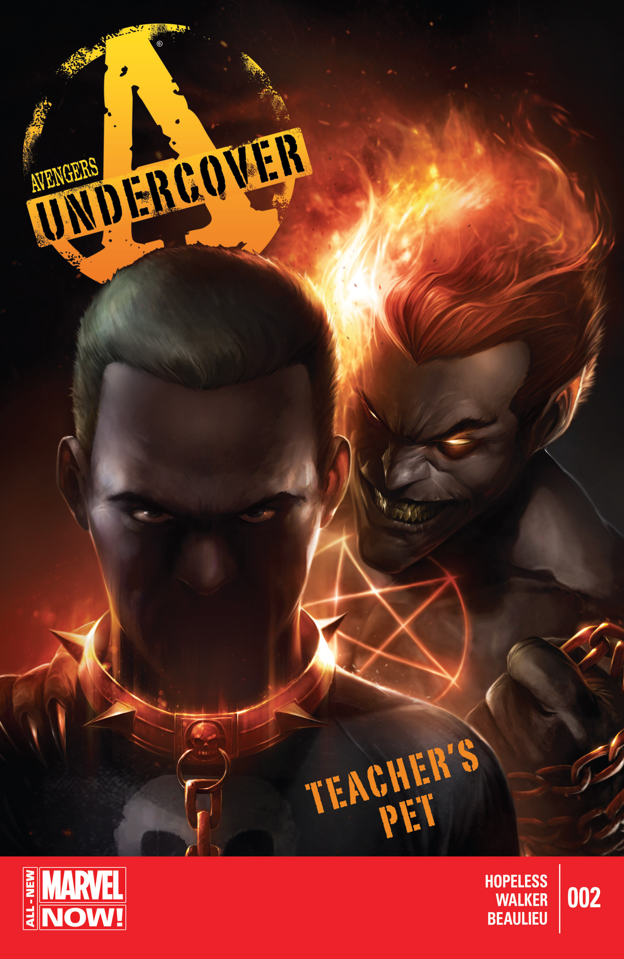 Read online Avengers Undercover comic -  Issue #2 - 1