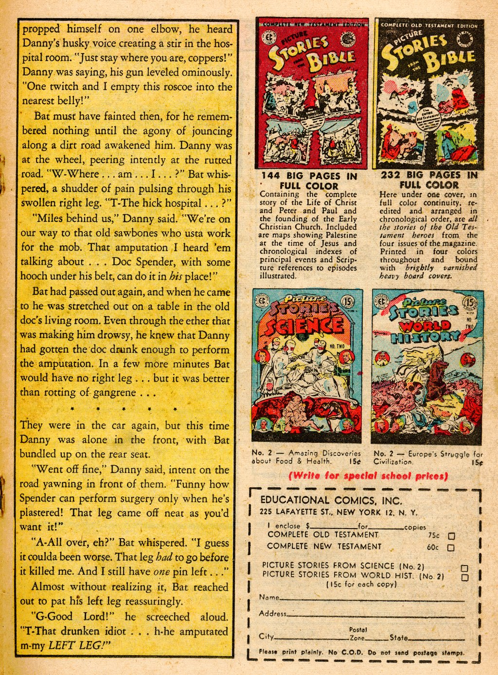 Read online Shock SuspenStories comic -  Issue #9 - 19